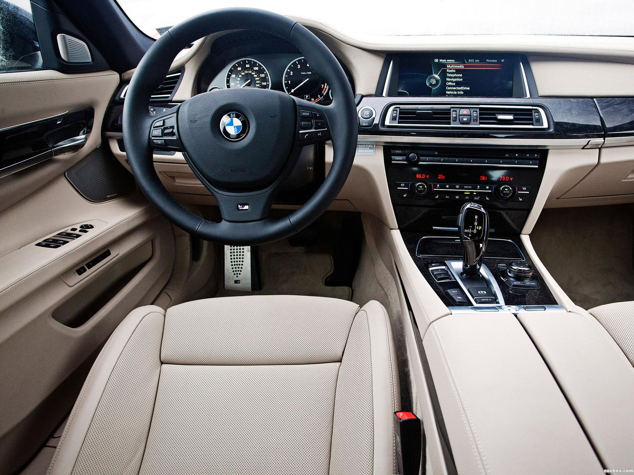 Foto 7 de BMW Serie 7 760li M Sports Package F02 USA 2012