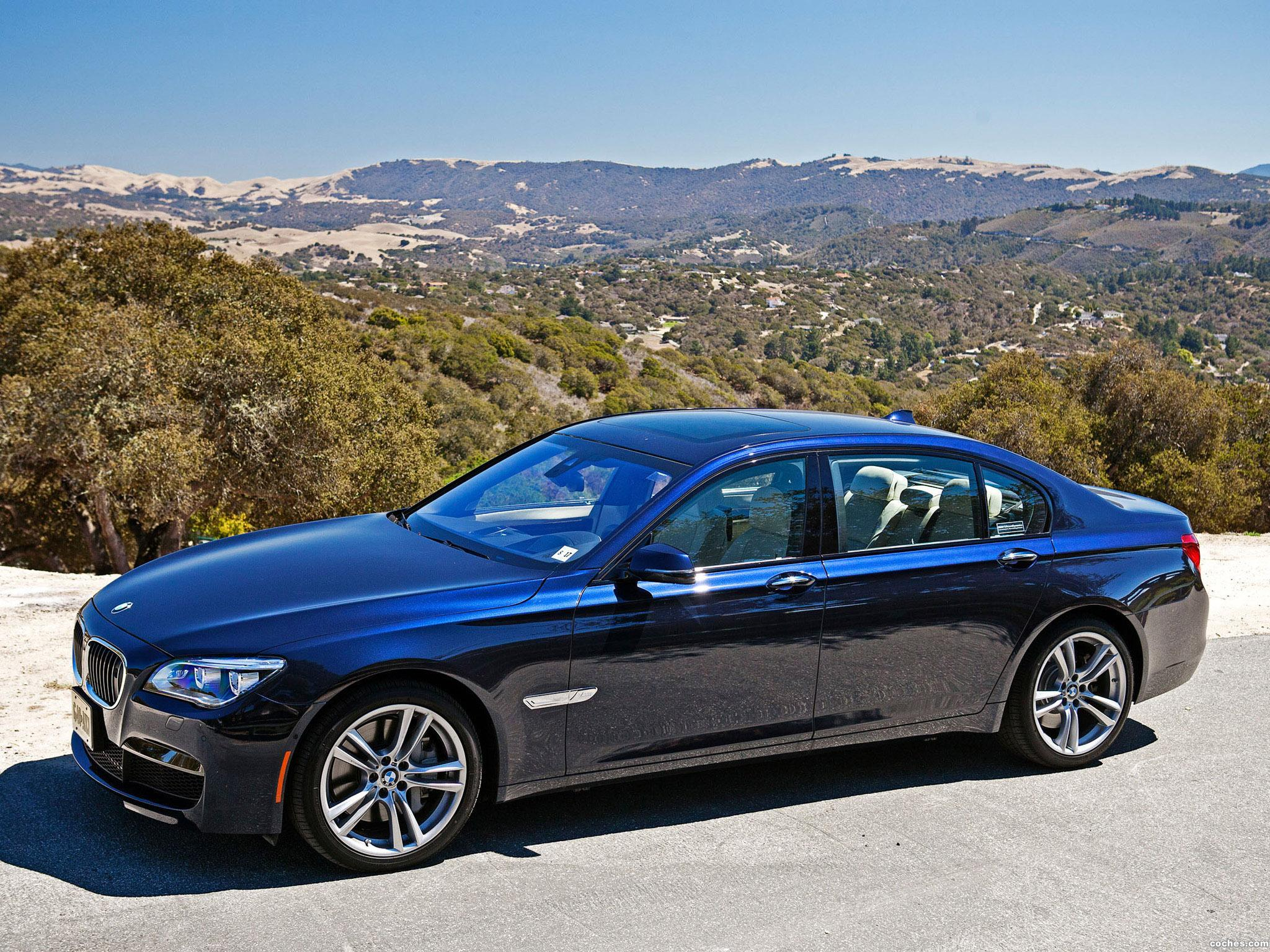 Foto 4 de BMW Serie 7 760li M Sports Package F02 USA 2012