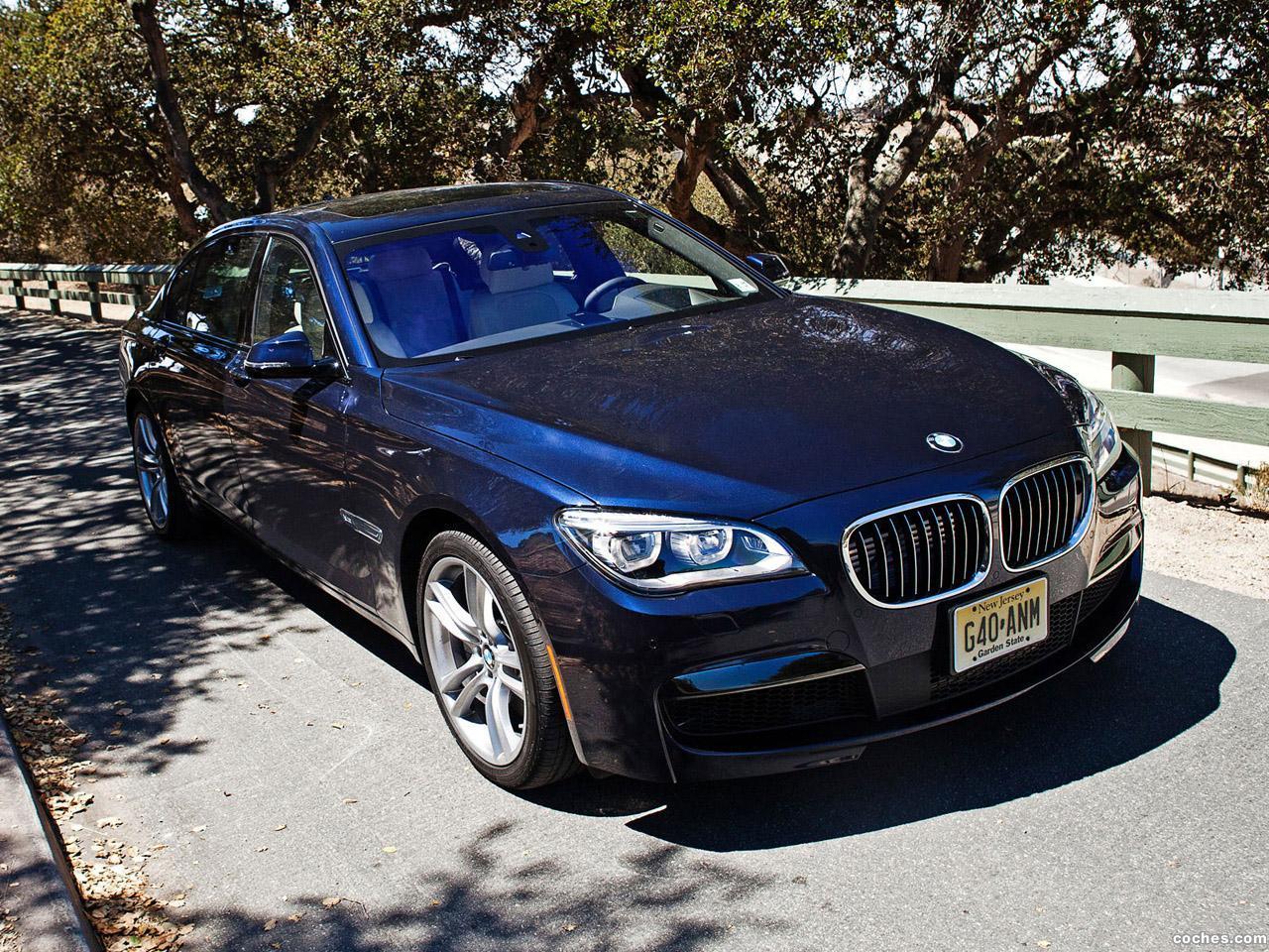 Foto 0 de BMW Serie 7 760li M Sports Package F02 USA 2012