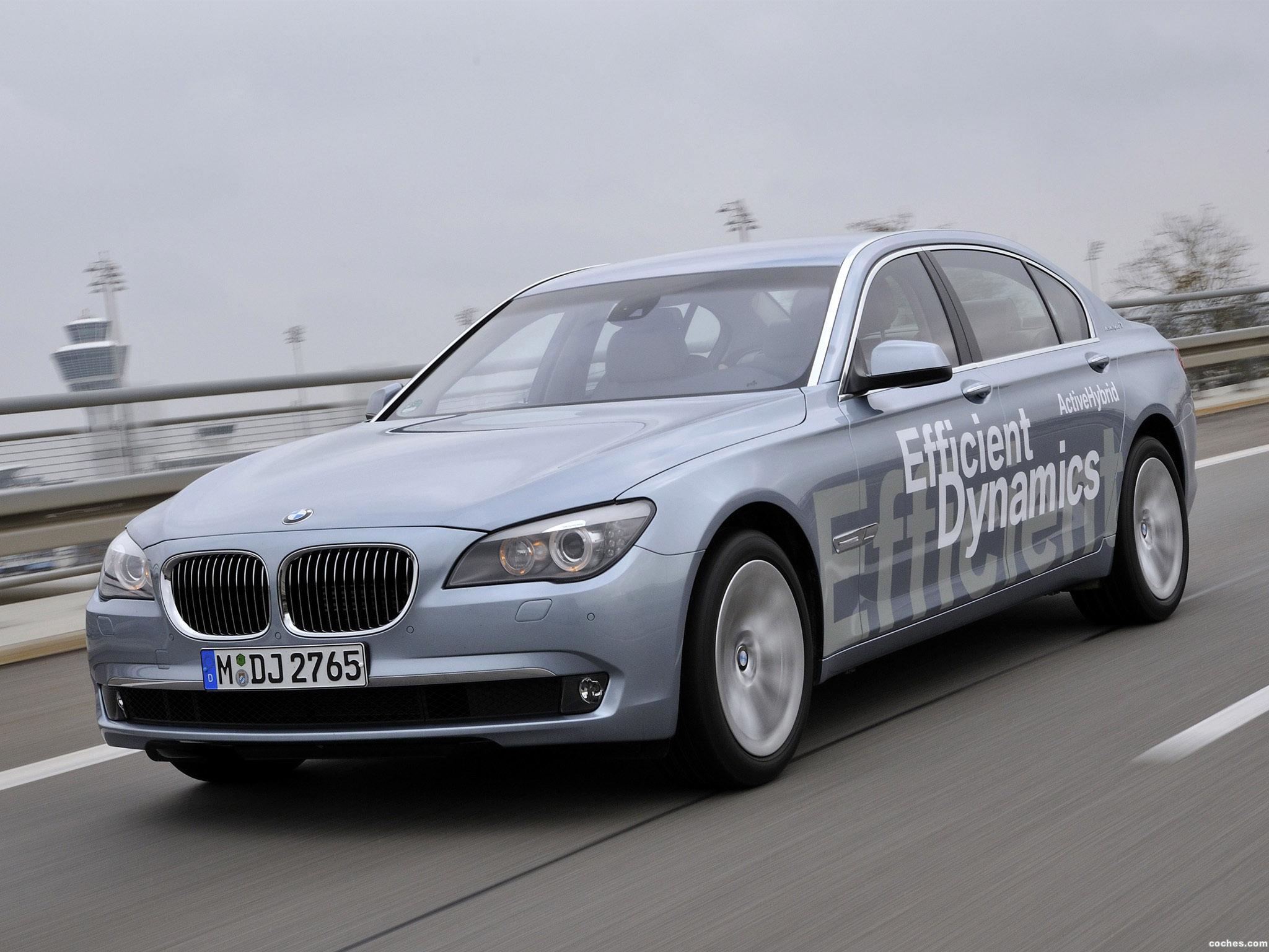Foto 0 de BMW Serie 7 ActiveHybrid 2010
