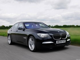 Fotos de BMW Serie 7 M Sports Package UK F01 2009