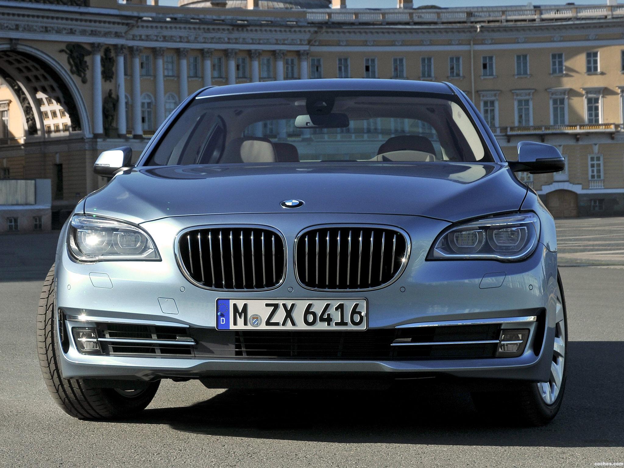 Foto 0 de BMW Serie 7 ActiveHybrid 2012