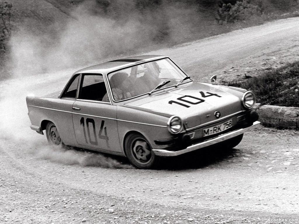 Foto 0 de BMW 700 Coupe 1959