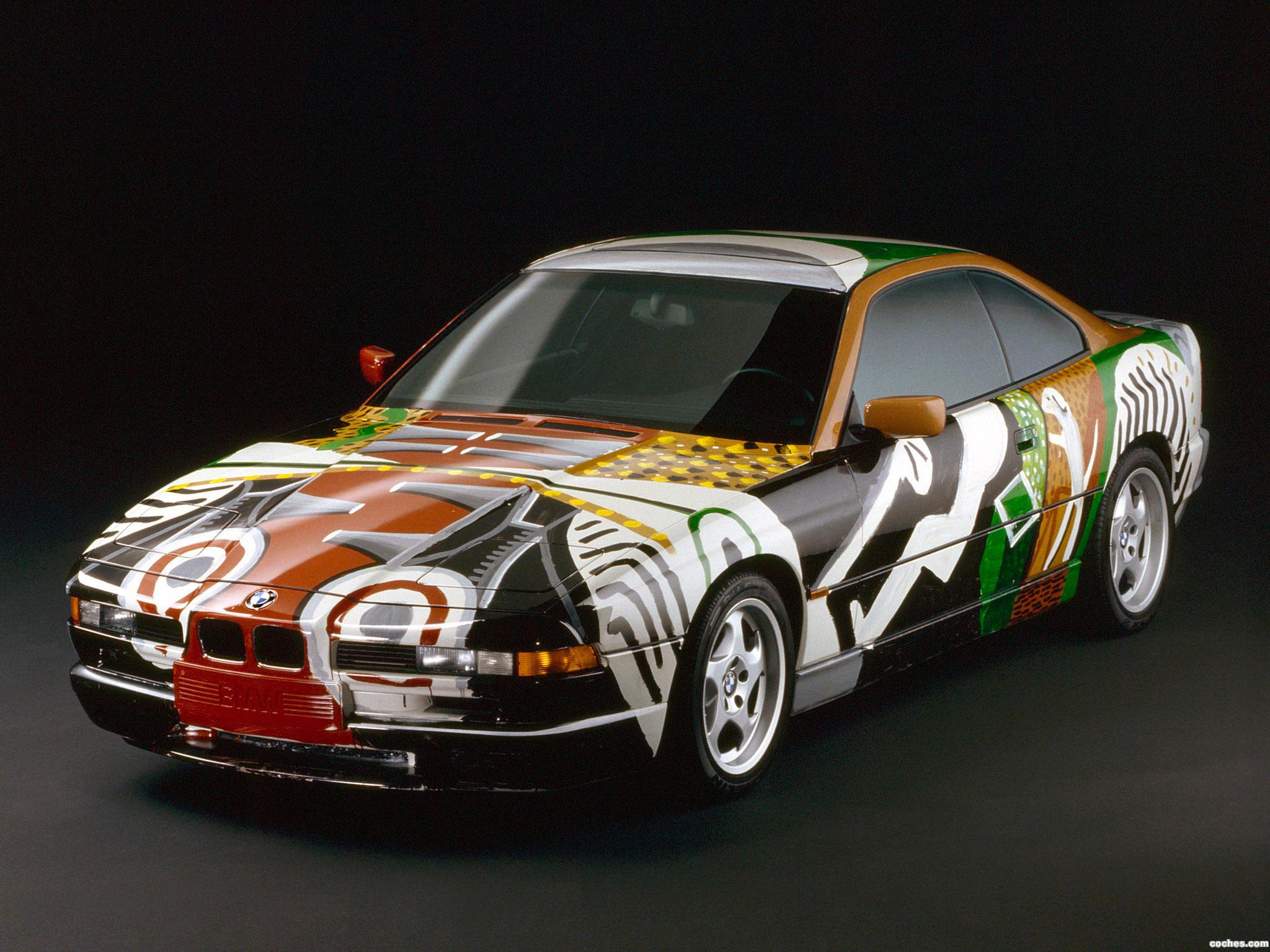 Foto 0 de BMW Serie 8 850 CSi Art Car by David Hockney E31 1995