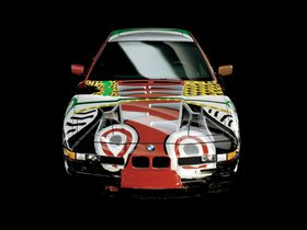 Ver foto 4 de BMW Serie 8 850 CSi Art Car by David Hockney E31 1995