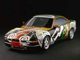 Fotos de BMW Serie 8 850 CSi Art Car by David Hockney E31 1995