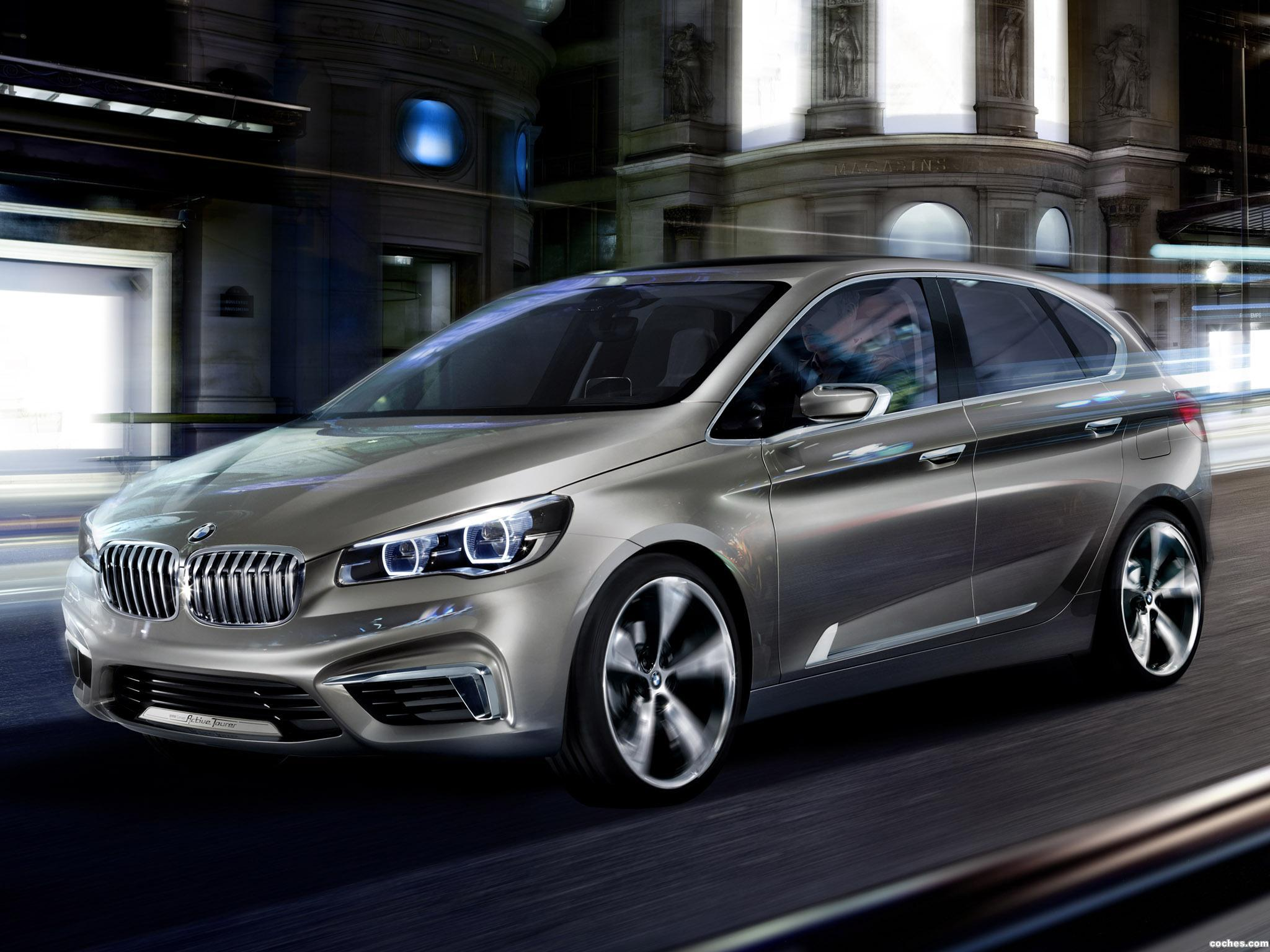 Foto 0 de BMW Active Tourer Concept 2012