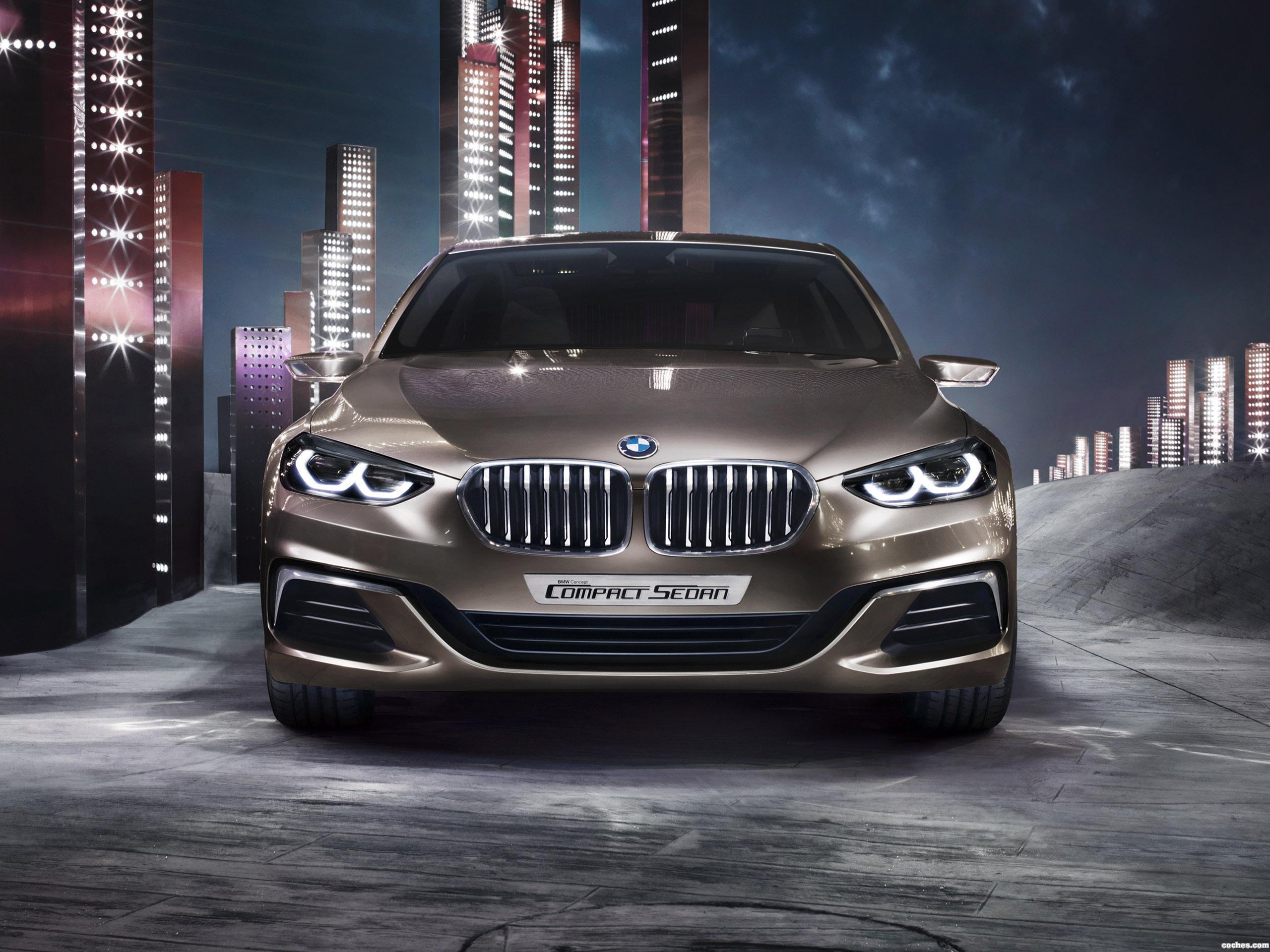 Foto 0 de BMW Concept Compact Sedan 2015