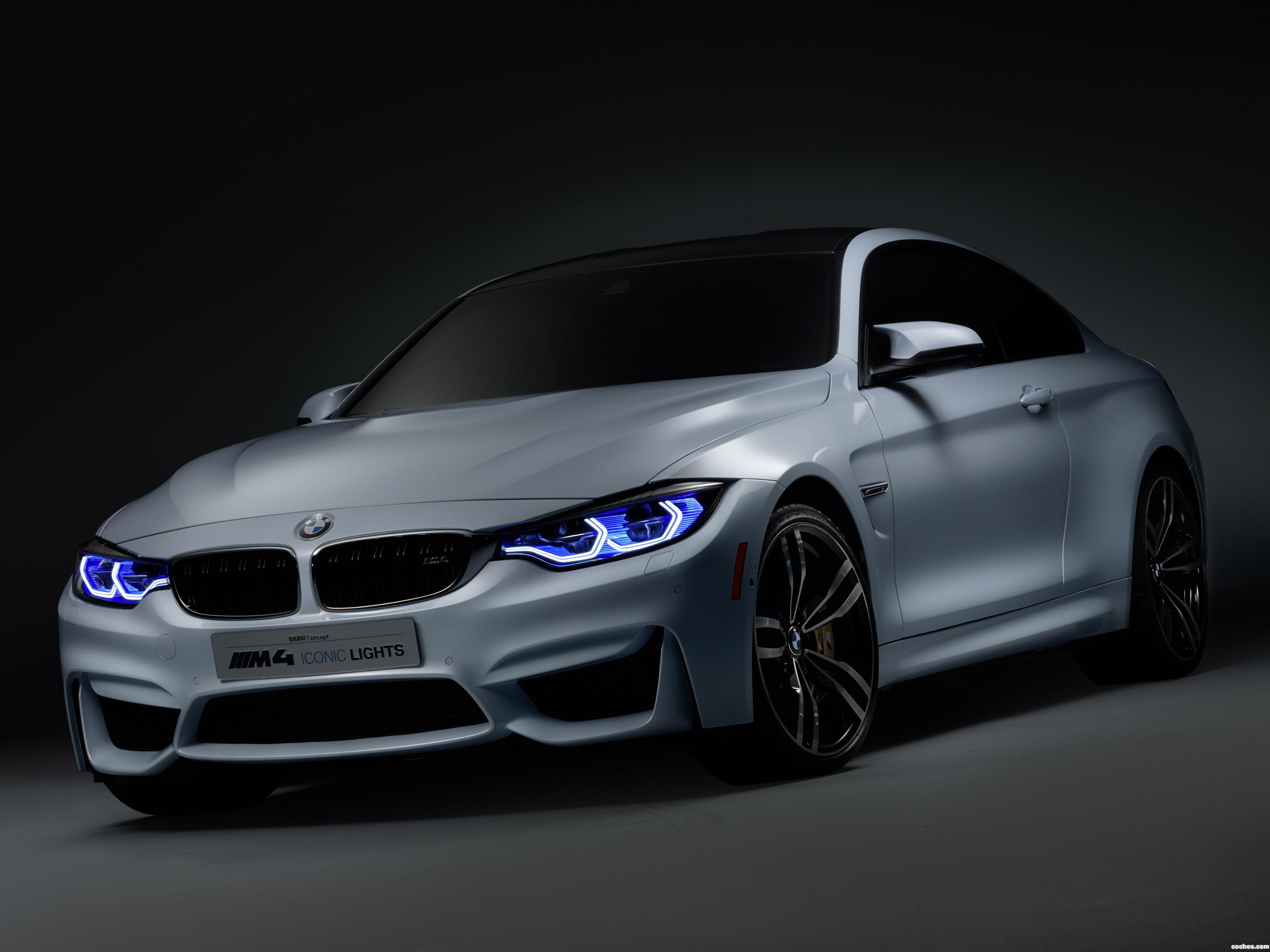 Foto 0 de BMW Serie 4 Concept M4 Iconic Lights F82 2015