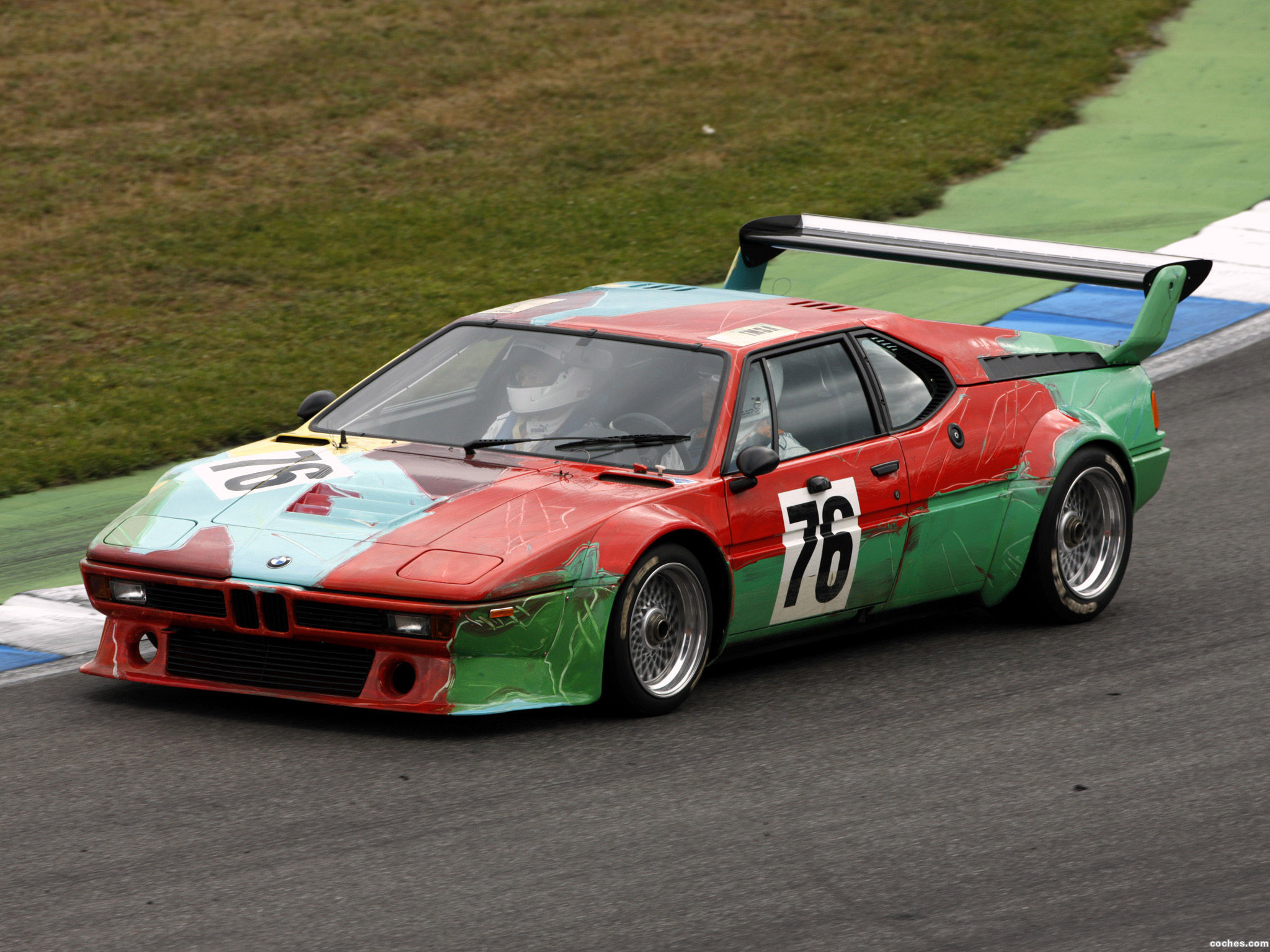 Foto 0 de BMW M1 Art Car by Andy Warhol E26 1979