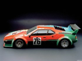 Ver foto 5 de BMW M1 Art Car by Andy Warhol E26 1979