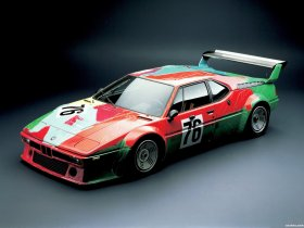 Ver foto 4 de BMW M1 Art Car by Andy Warhol E26 1979