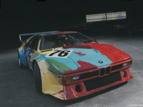 Ver foto 3 de BMW M1 Art Car by Andy Warhol E26 1979