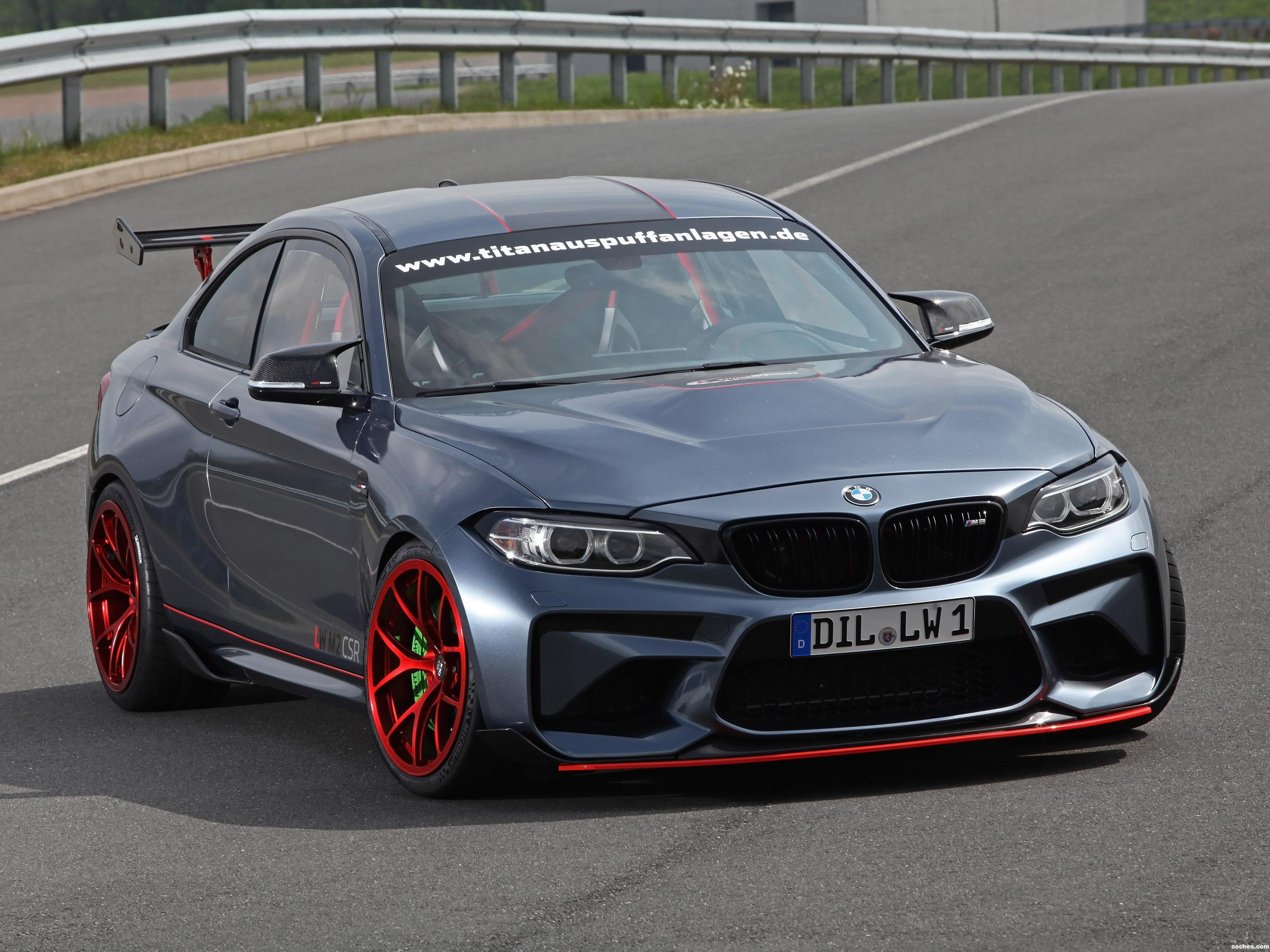 Foto 0 de BMW M2 CSR by Lightweight Performance F87 2017