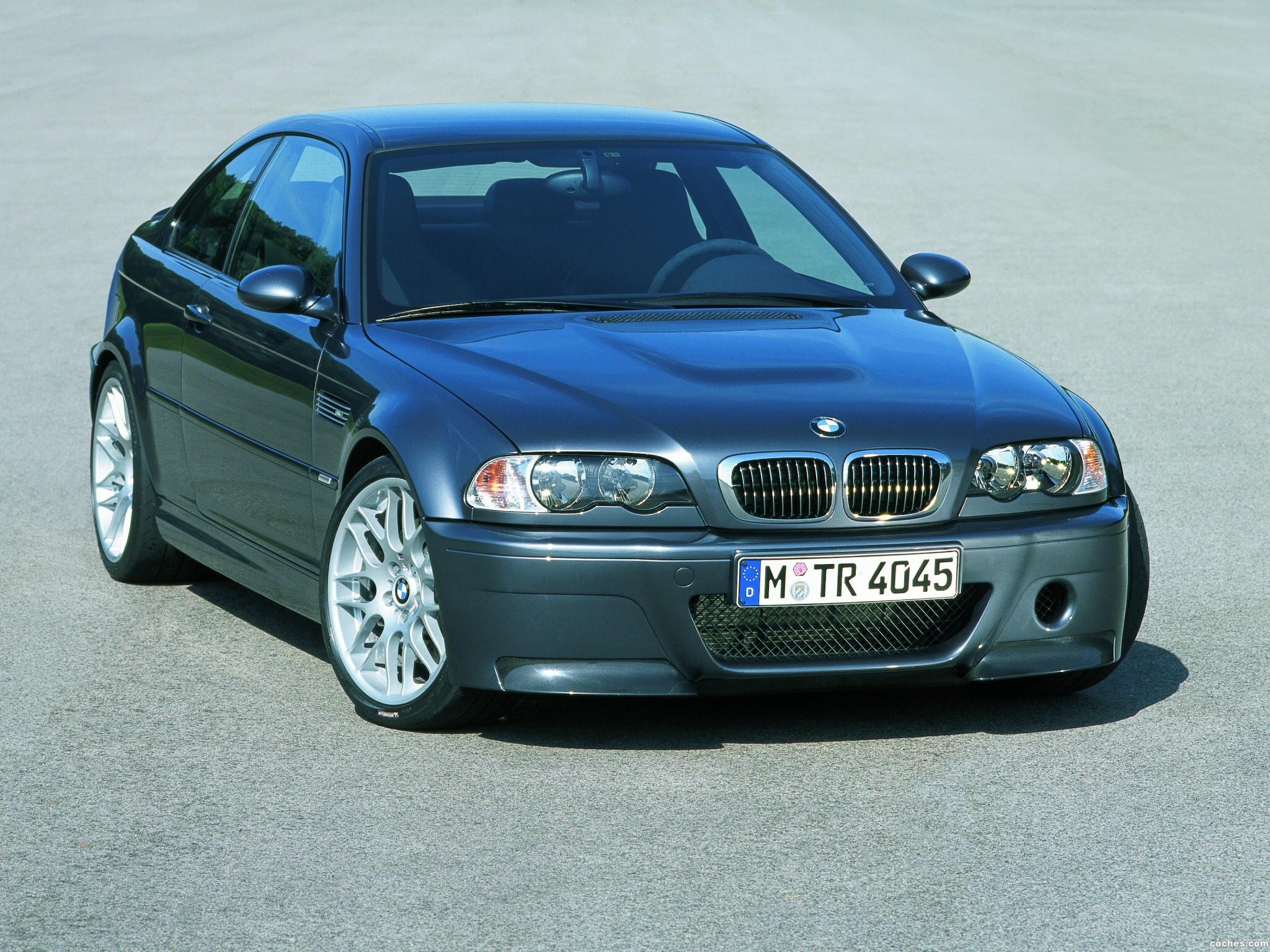 Foto 0 de BMW M3 CSL Concept 2002