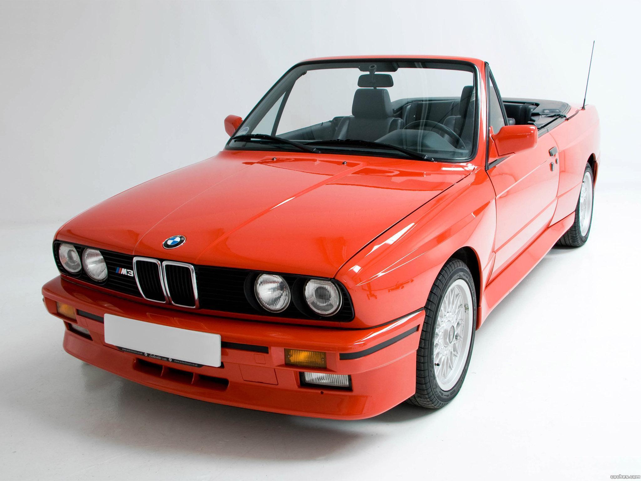 Foto 0 de BMW M3 Cabrio E30 1988