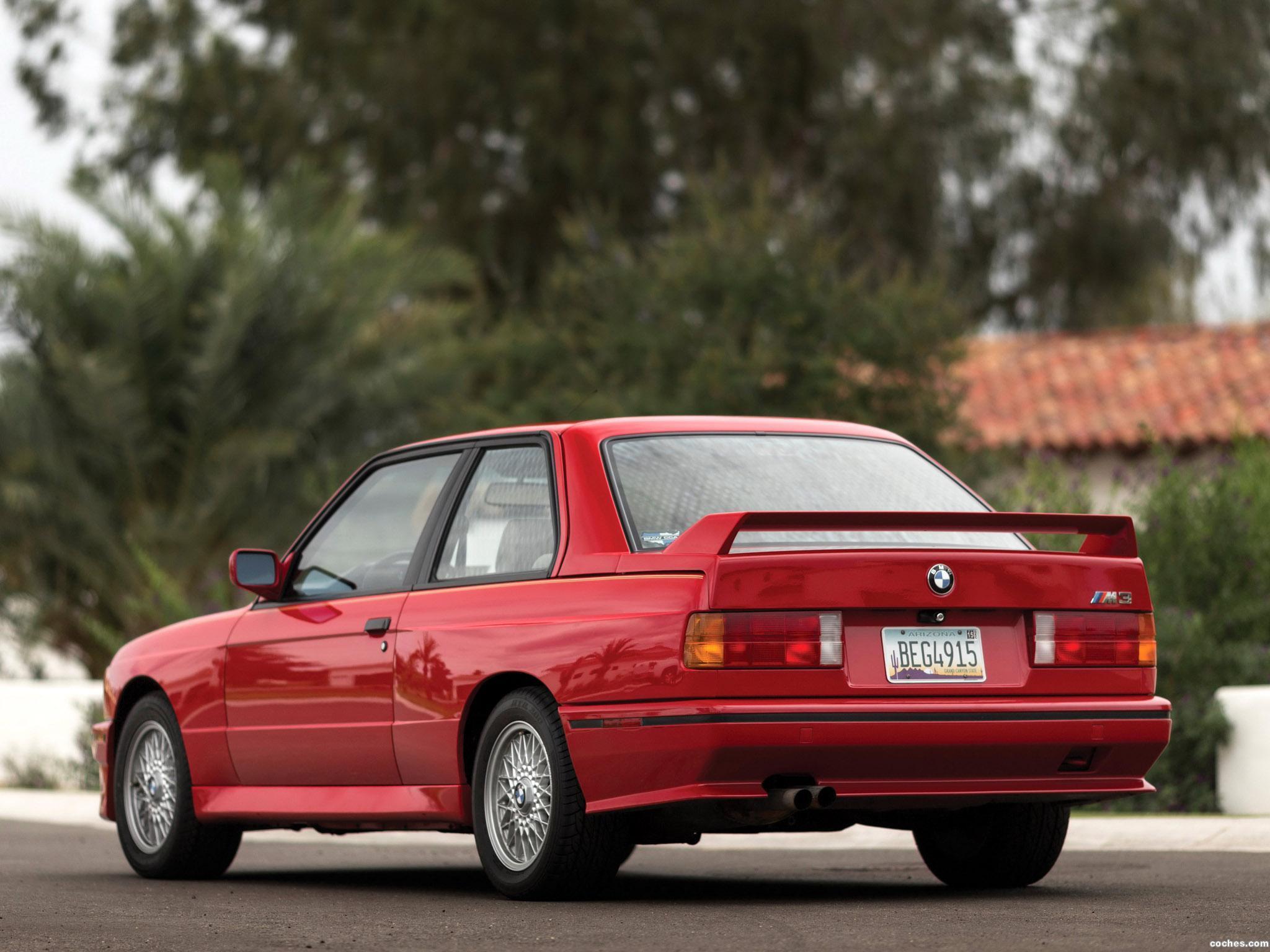 Foto 8 de BMW M3 Coupe E30 USA 1987