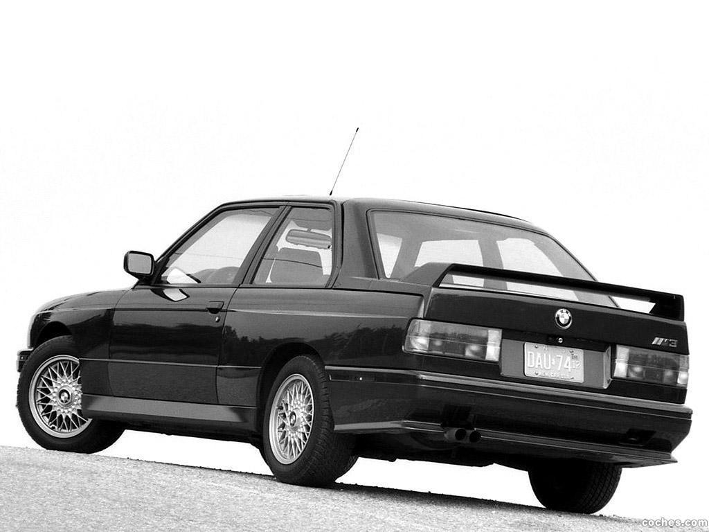 fotos de bmw m3 coupe e30 usa 1987 foto 2
