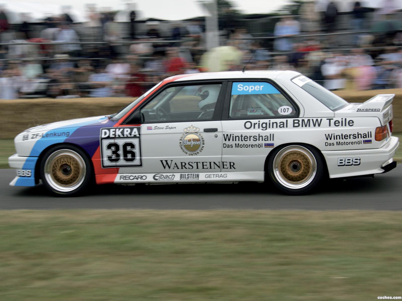 Foto 4 de BMW M3 DTM E30 1987
