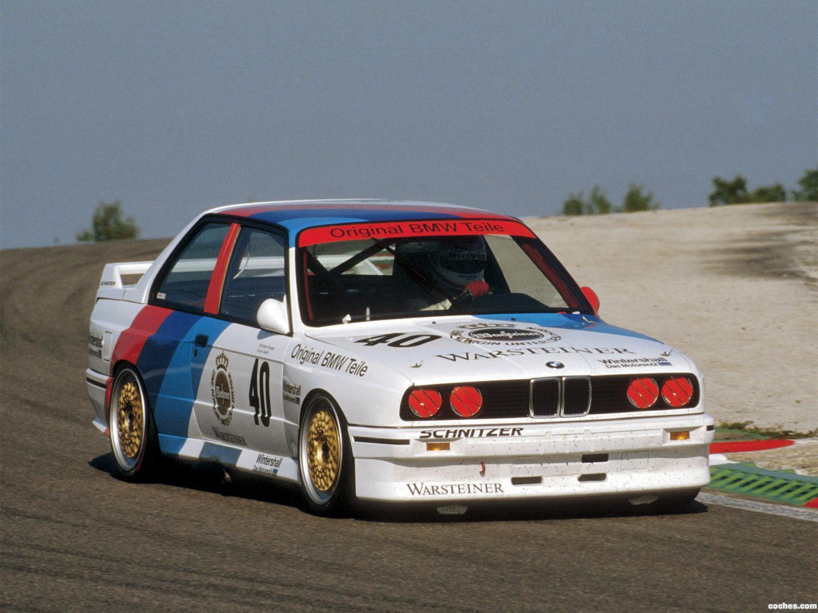 Foto 2 de BMW M3 DTM E30 1987
