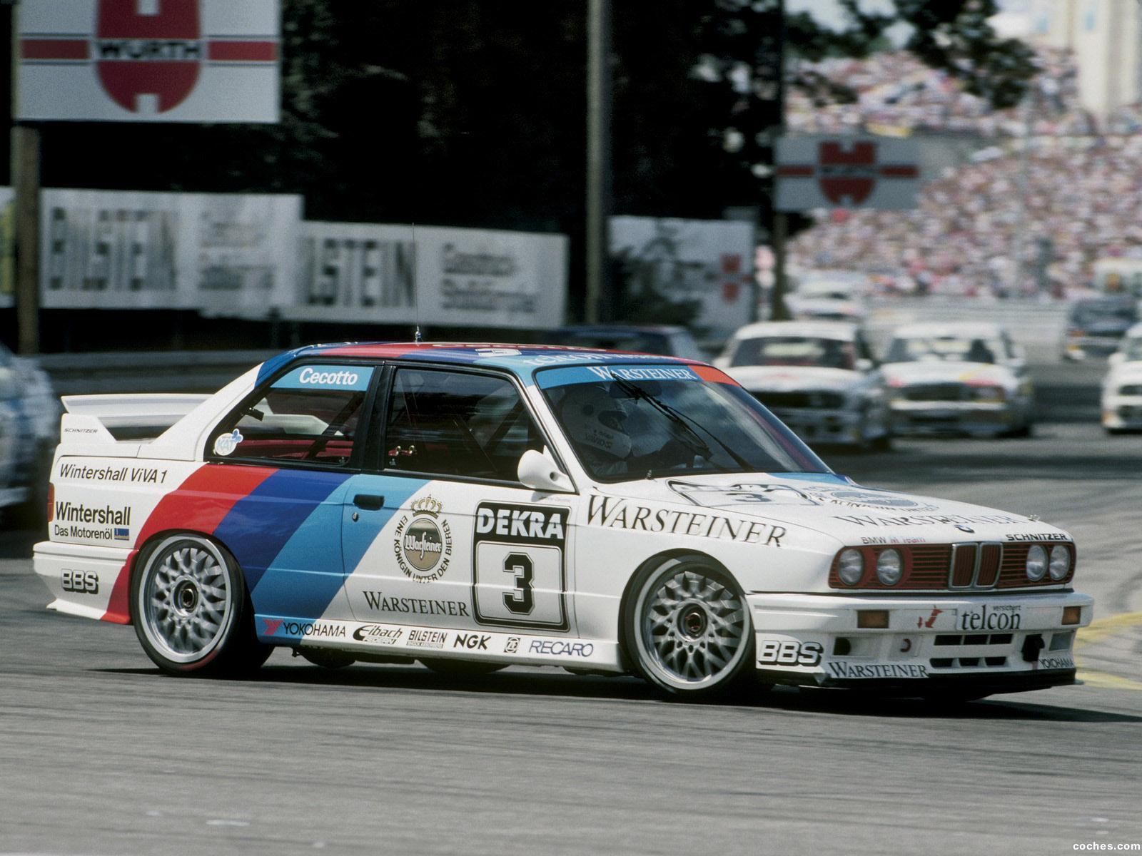 Foto 21 de BMW M3 DTM E30 1987