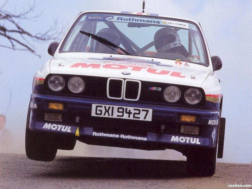 Foto 0 de BMW M3 Group A Rally E30 1987