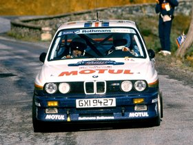 Ver foto 2 de BMW M3 Group A Rally E30 1987