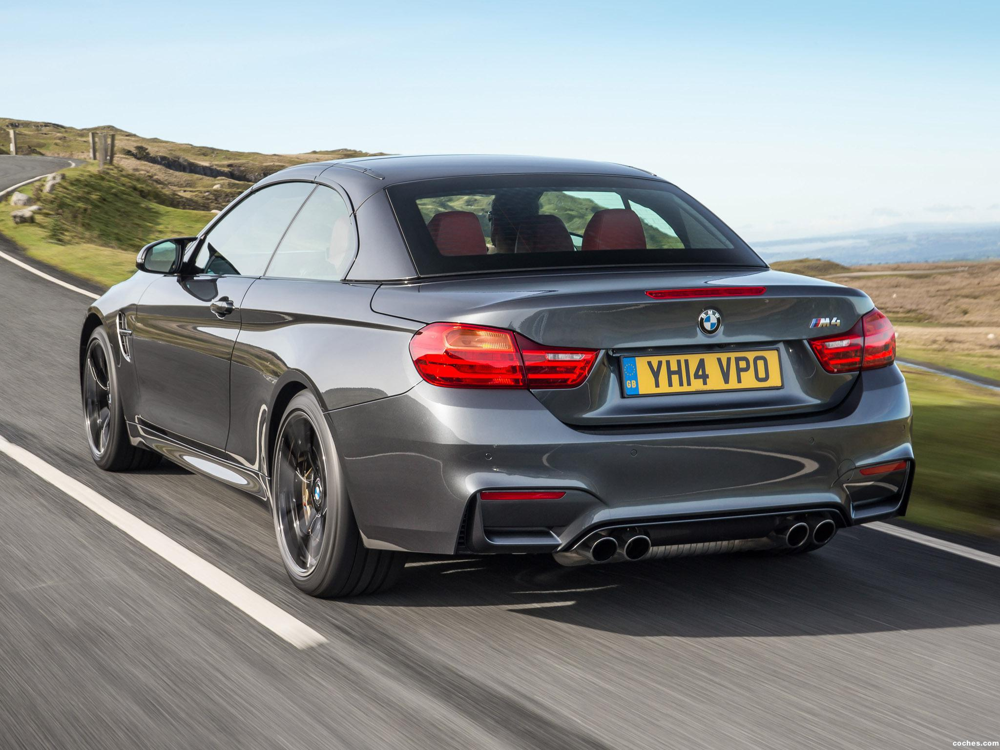 Foto 7 de BMW Serie 4 M4 Cabrio F83 UK 2014