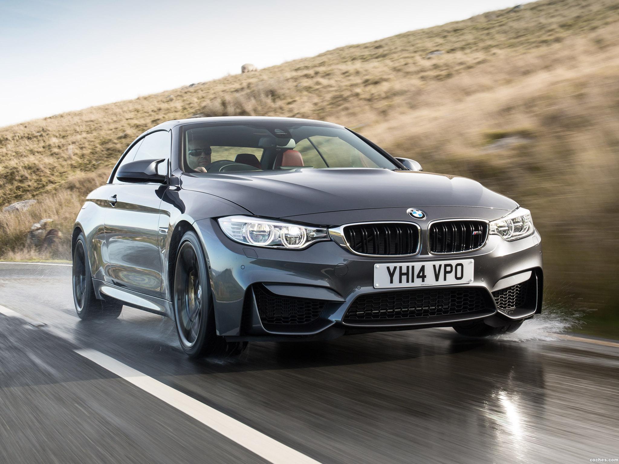 Foto 5 de BMW Serie 4 M4 Cabrio F83 UK 2014