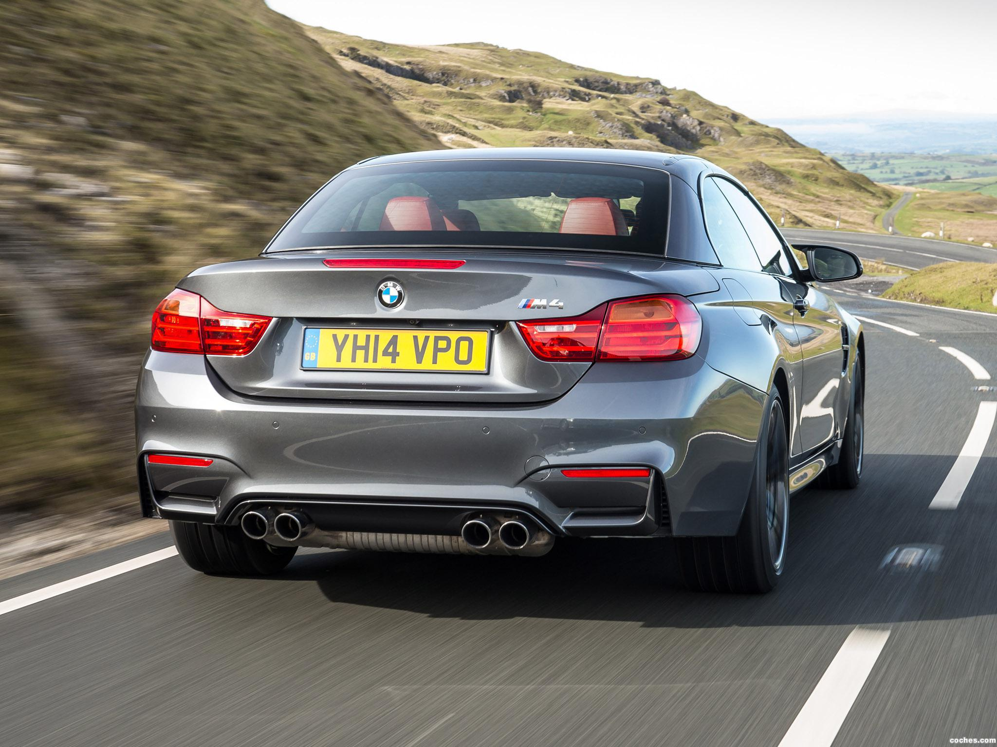Foto 4 de BMW Serie 4 M4 Cabrio F83 UK 2014