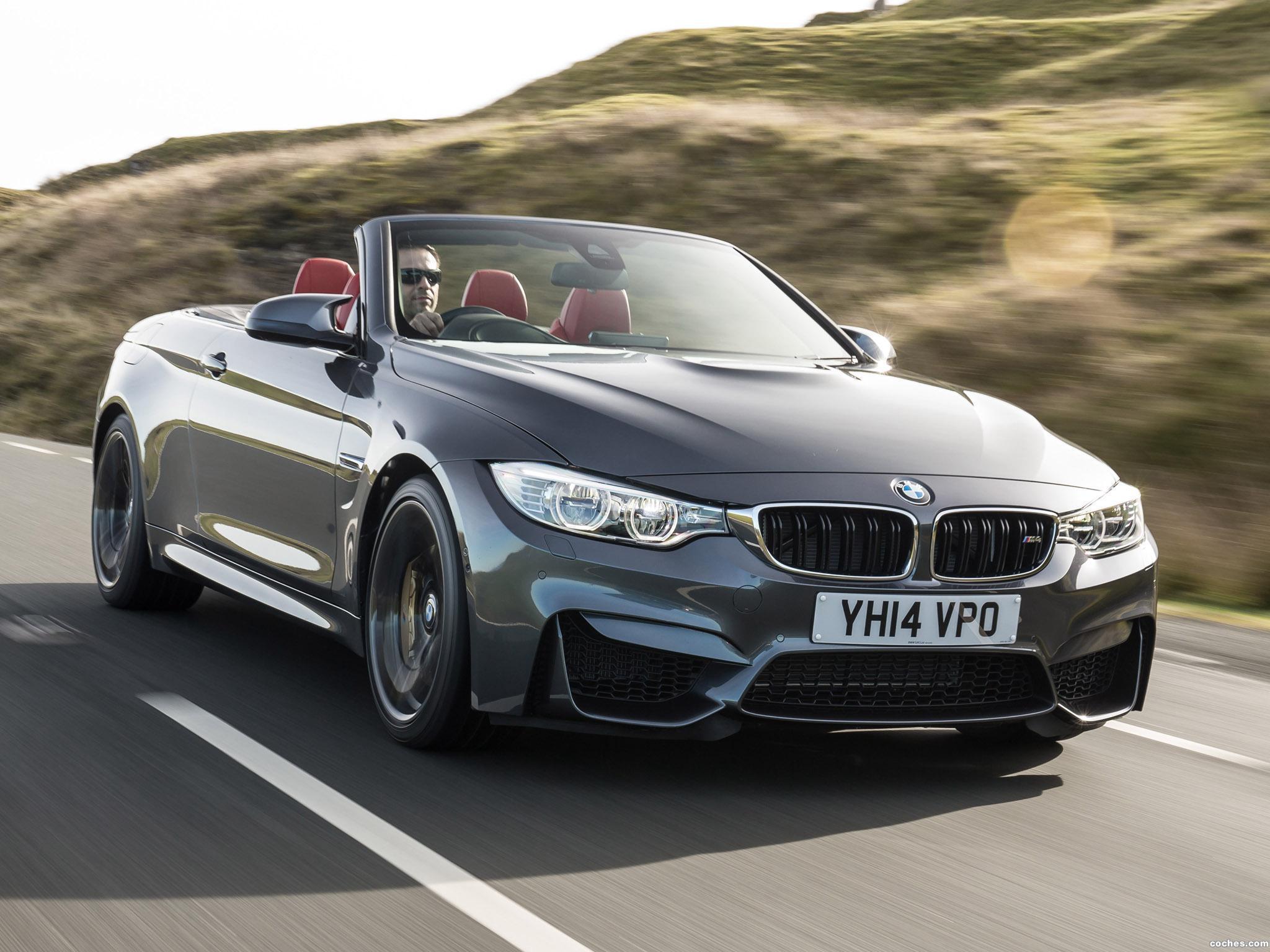 Foto 1 de BMW Serie 4 M4 Cabrio F83 UK 2014
