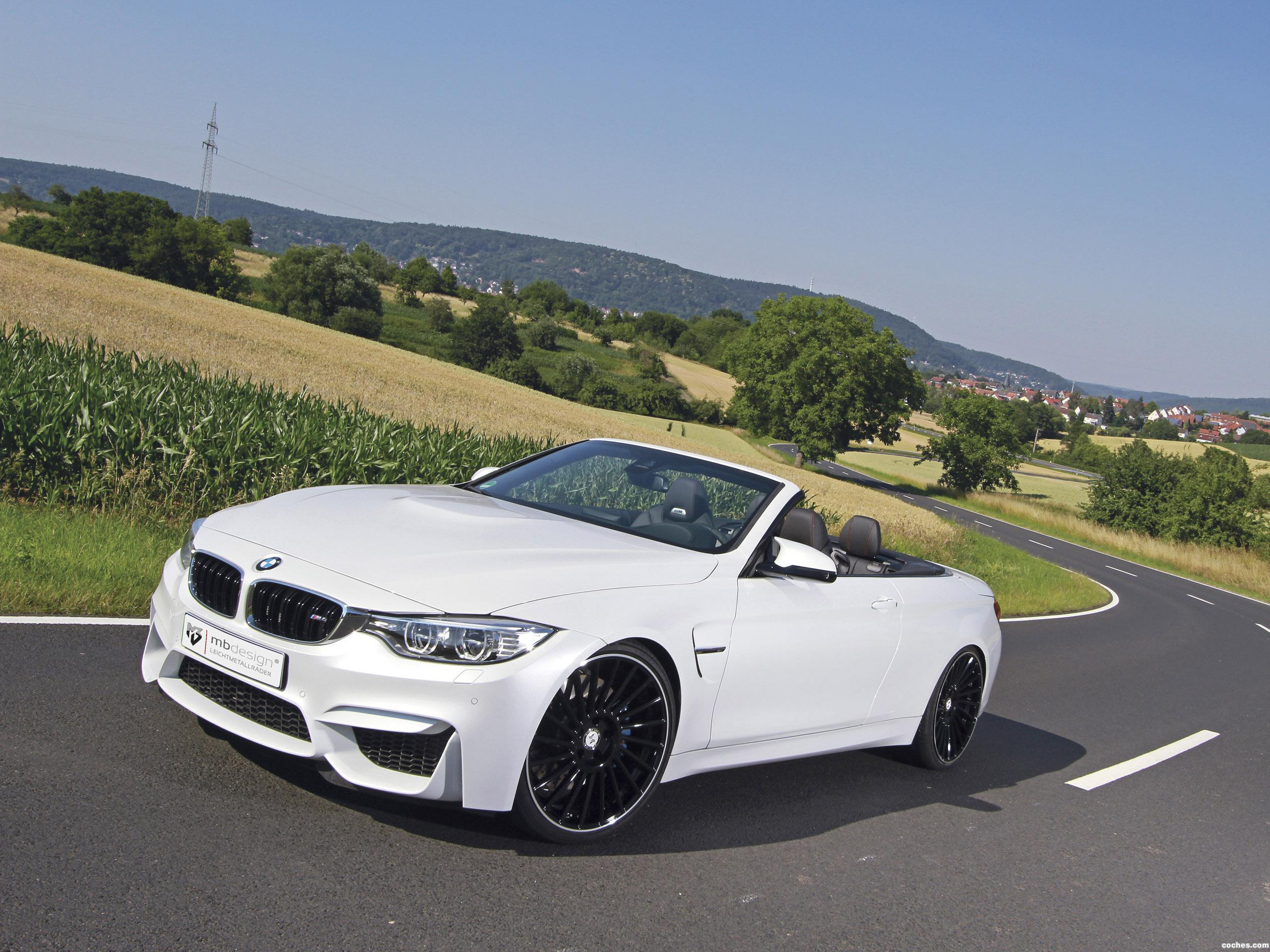 Foto 0 de BMW M4 Convertible mbDesign  2015