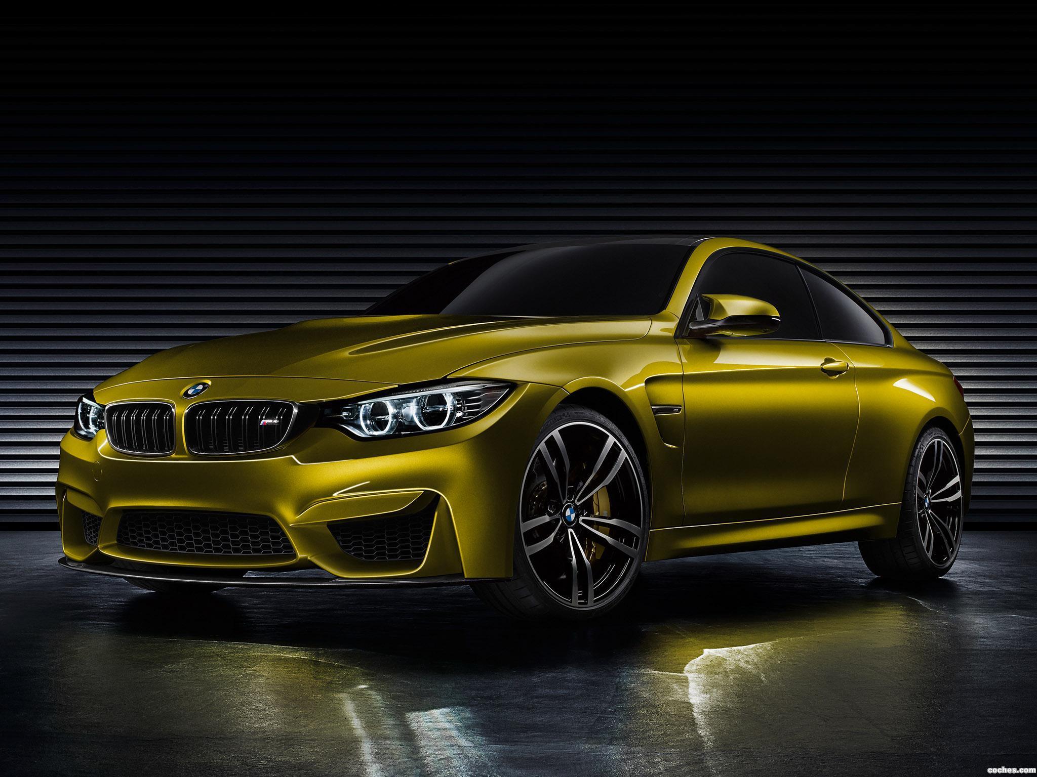 Foto 0 de BMW M4 Coupe Concept 2013
