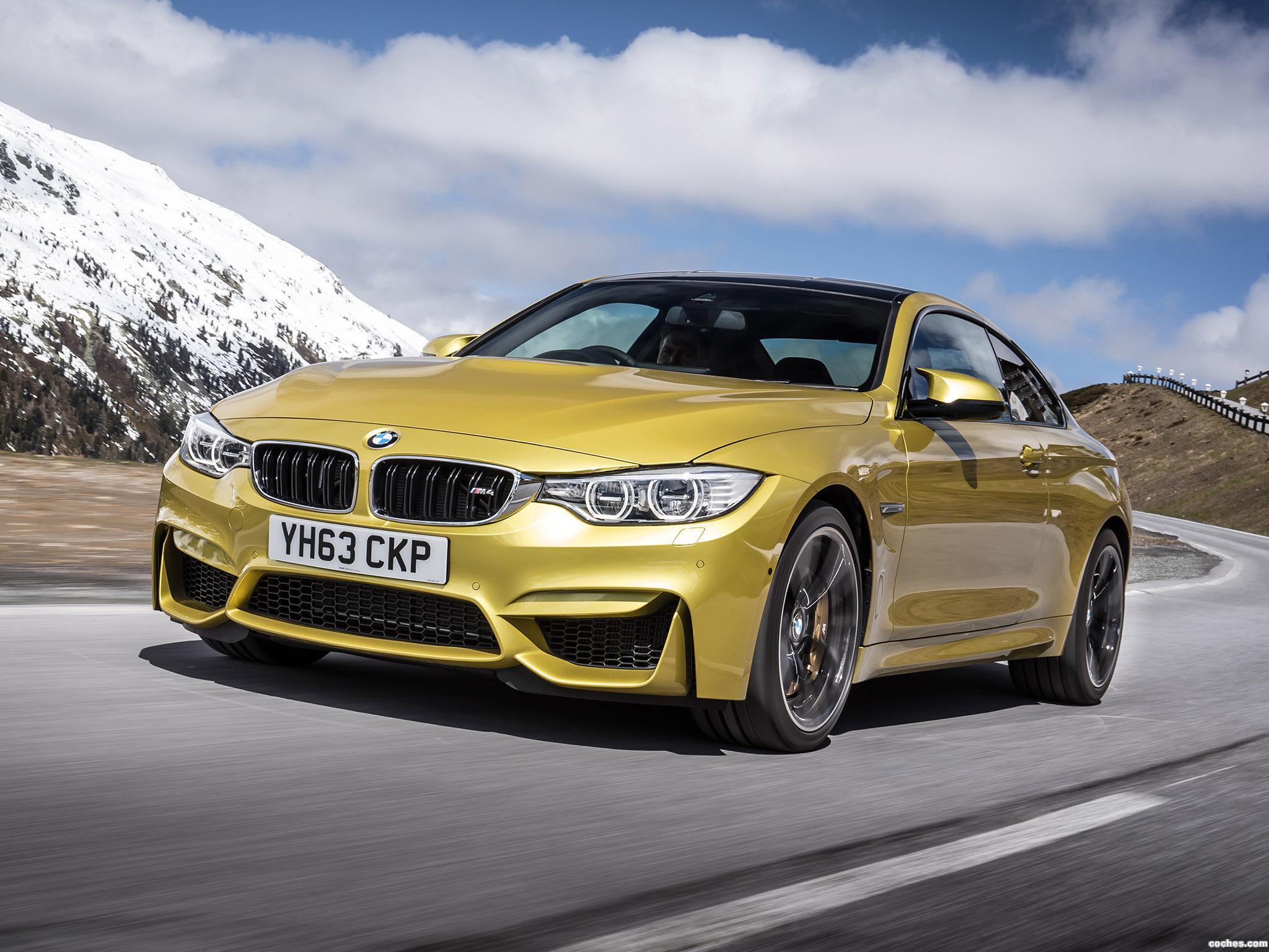 Foto 0 de BMW M4 Coupe F82 UK 2014