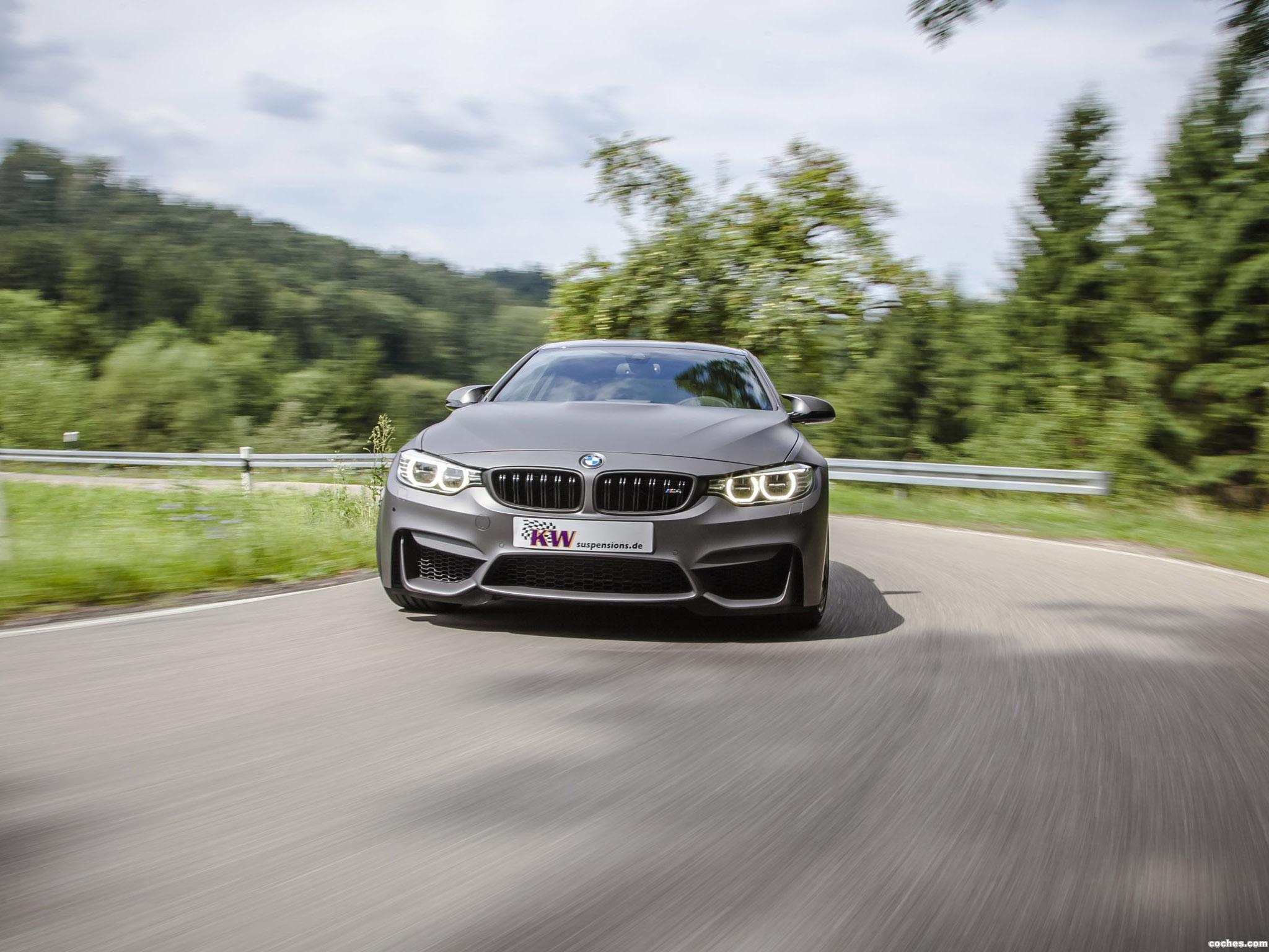 Foto 5 de BMW Serie 4 M4 Coupe KW Clubsport 2014