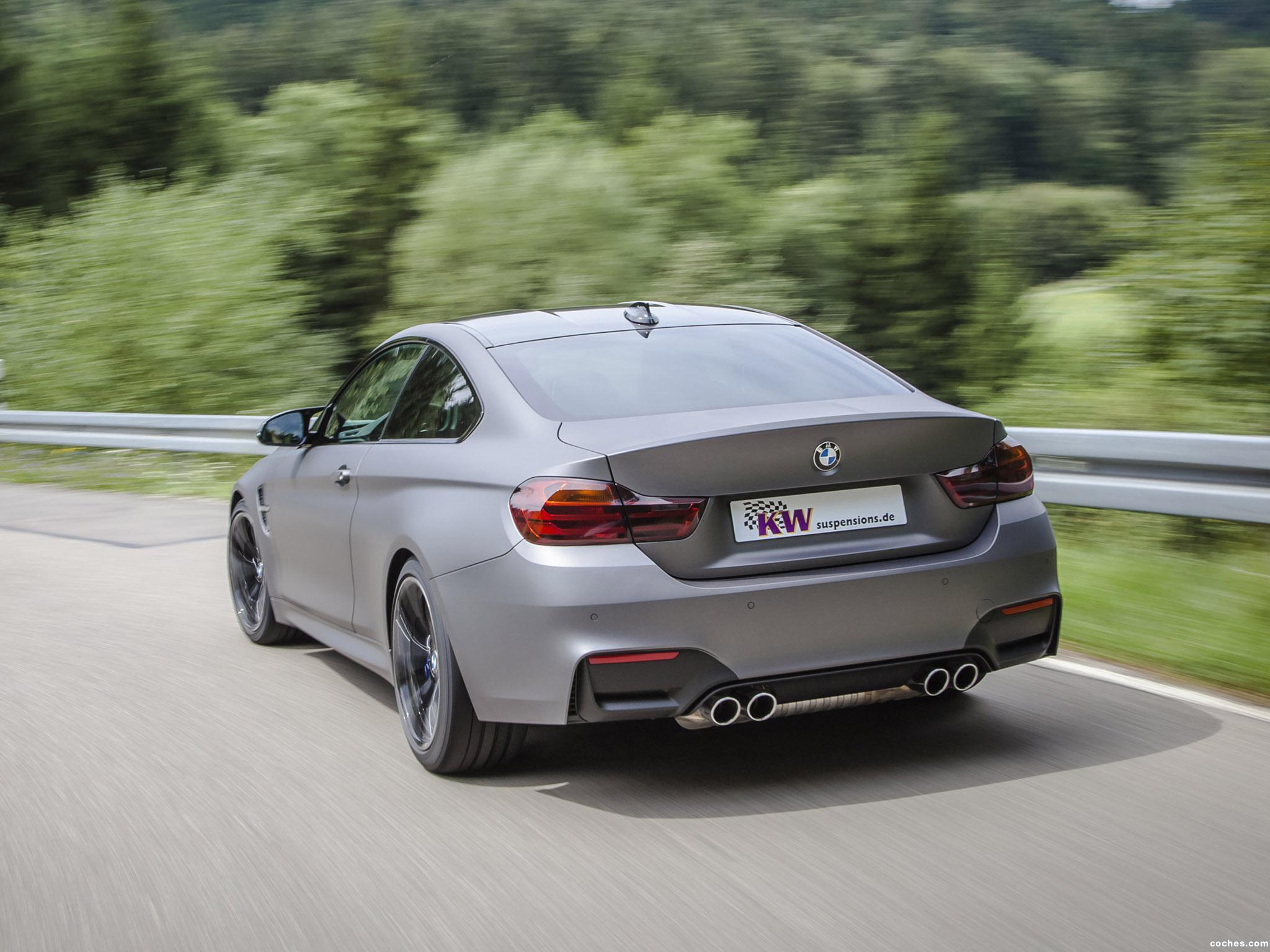 Foto 4 de BMW Serie 4 M4 Coupe KW Clubsport 2014