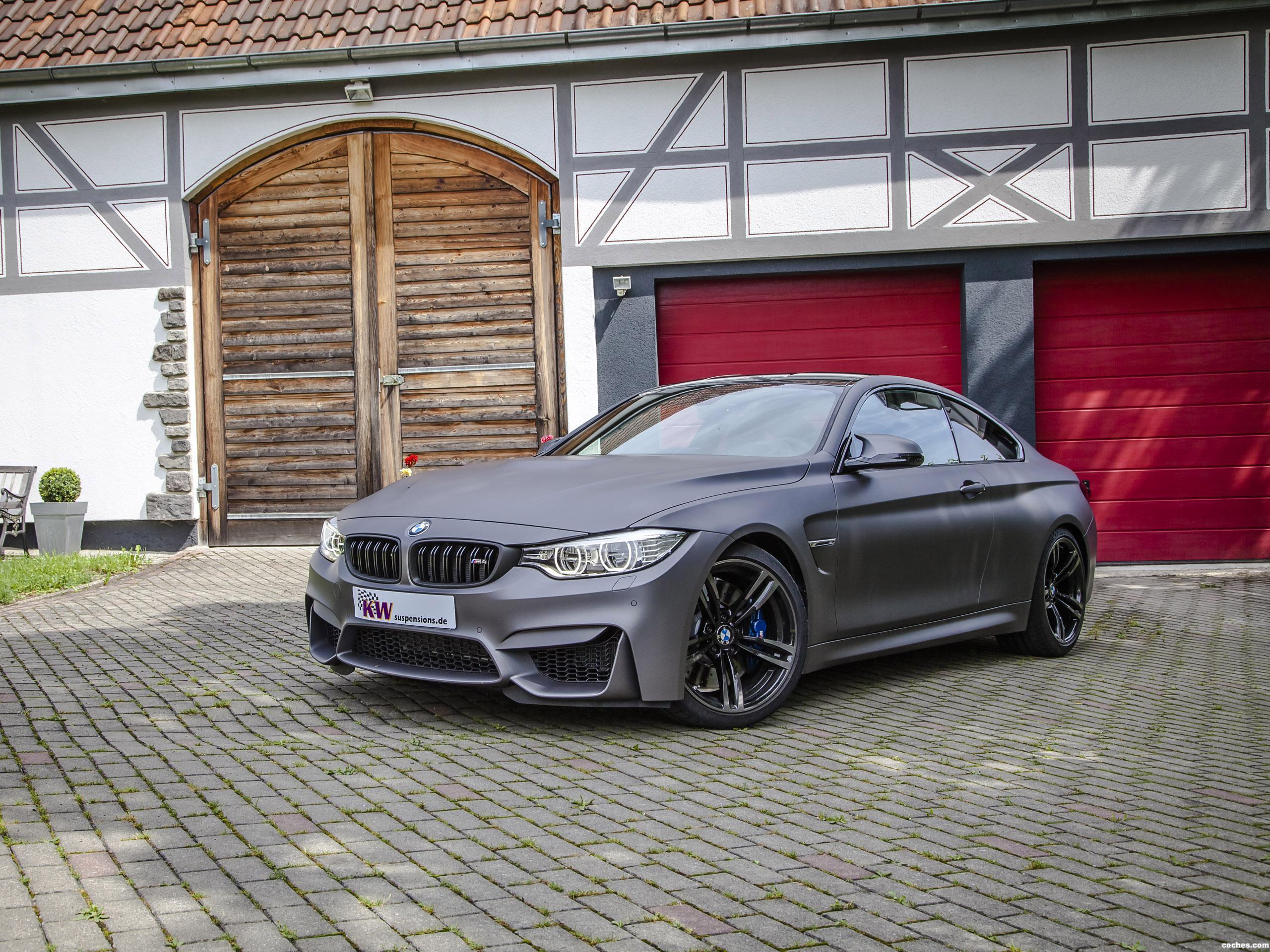 Foto 0 de BMW Serie 4 M4 Coupe KW Clubsport 2014