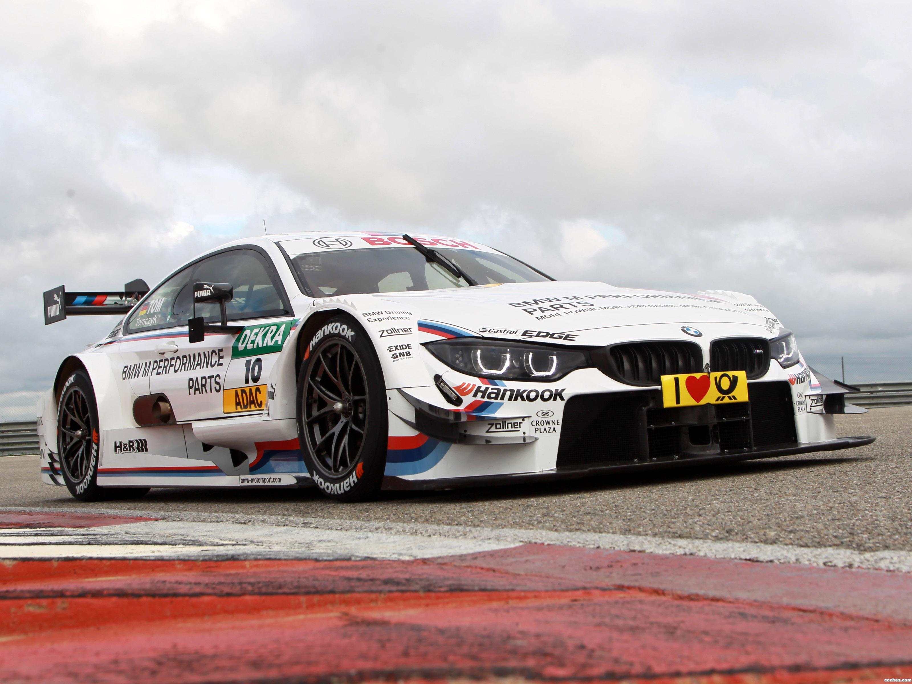 Foto 0 de BMW M4 DTM 2014