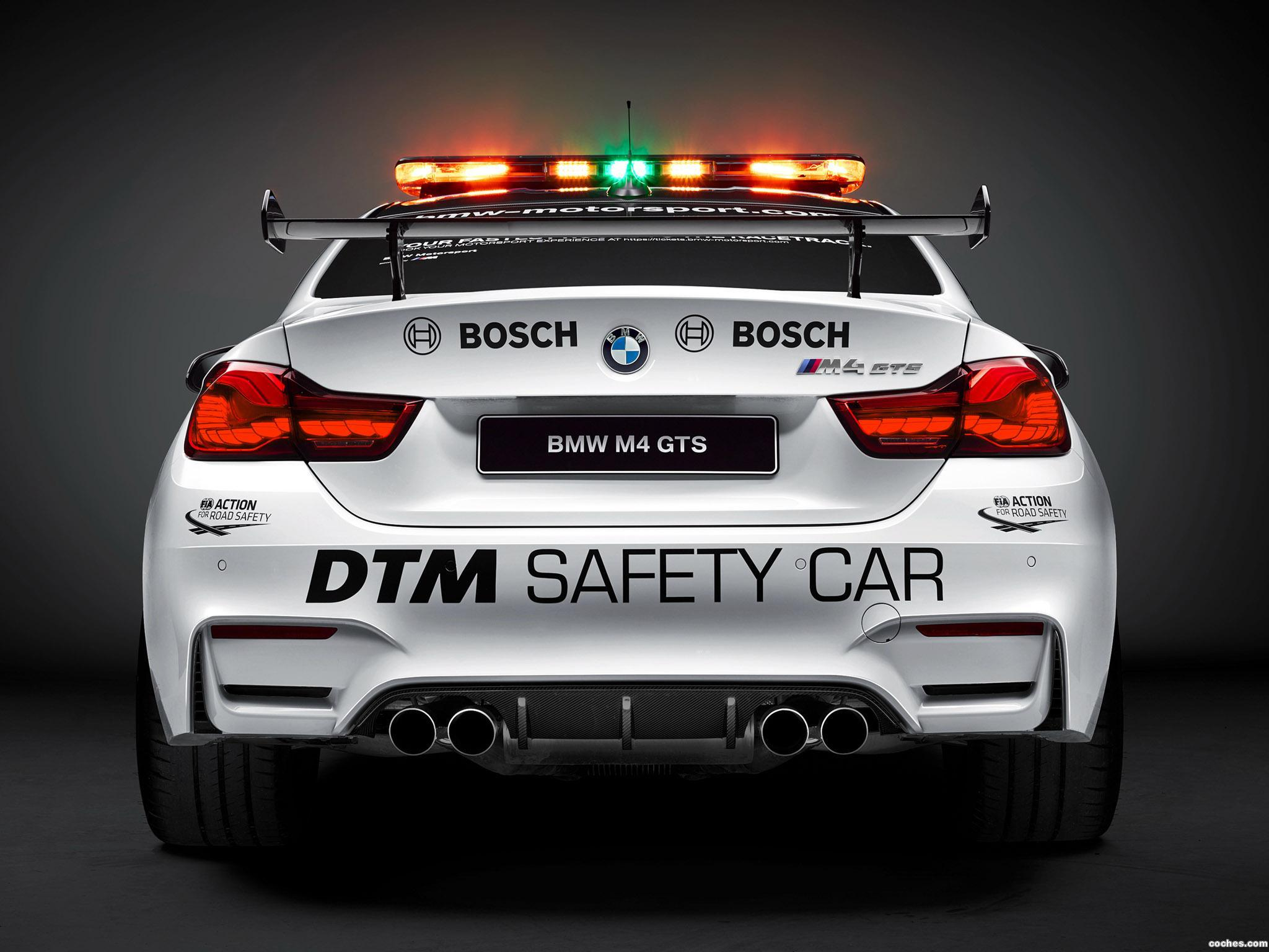 Foto 4 de BMW M4 GTS DTM Safety Car F82 2016