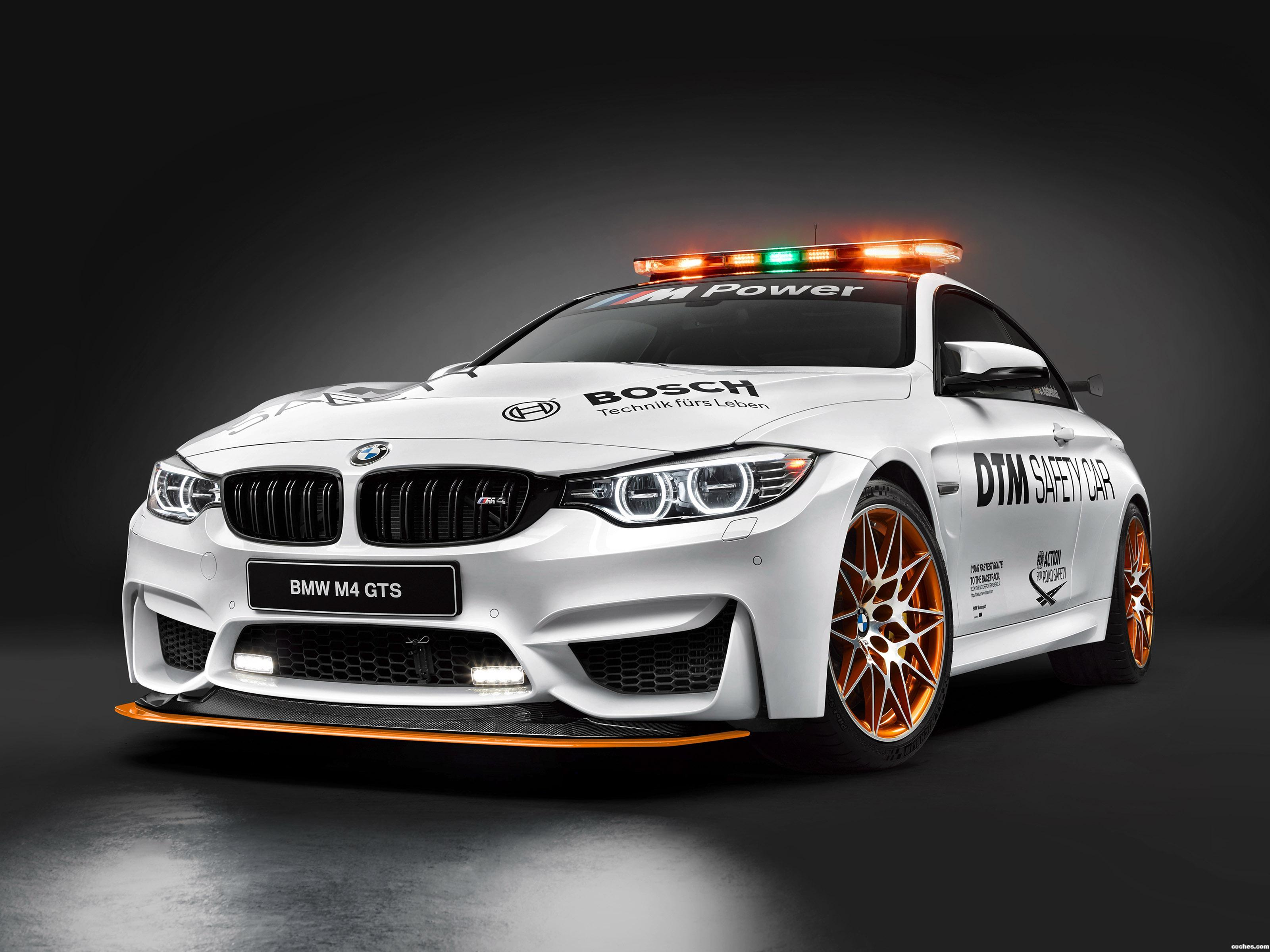 Foto 0 de BMW M4 GTS DTM Safety Car F82 2016
