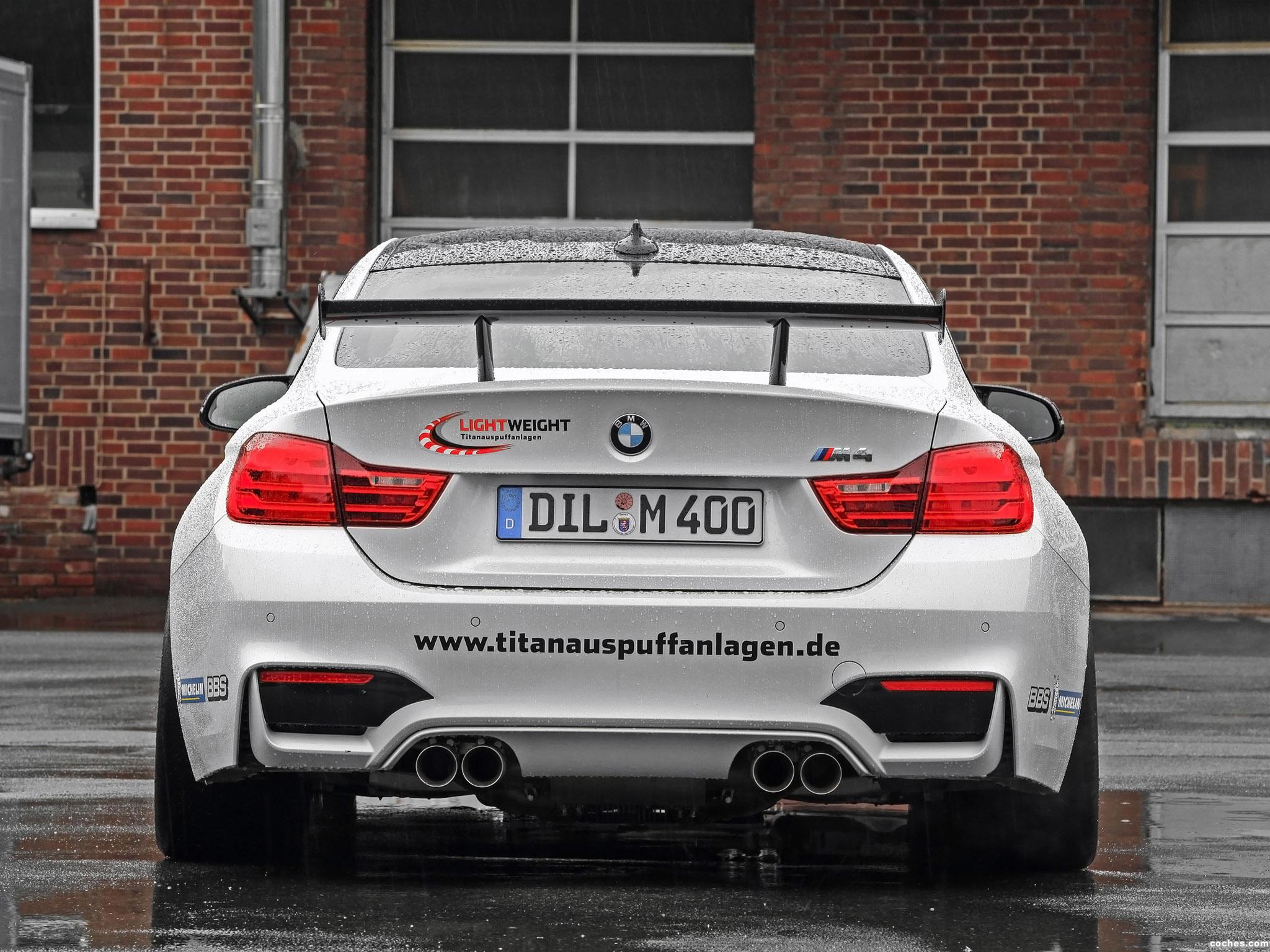Foto 5 de BMW M4 LightWeight LW 2014