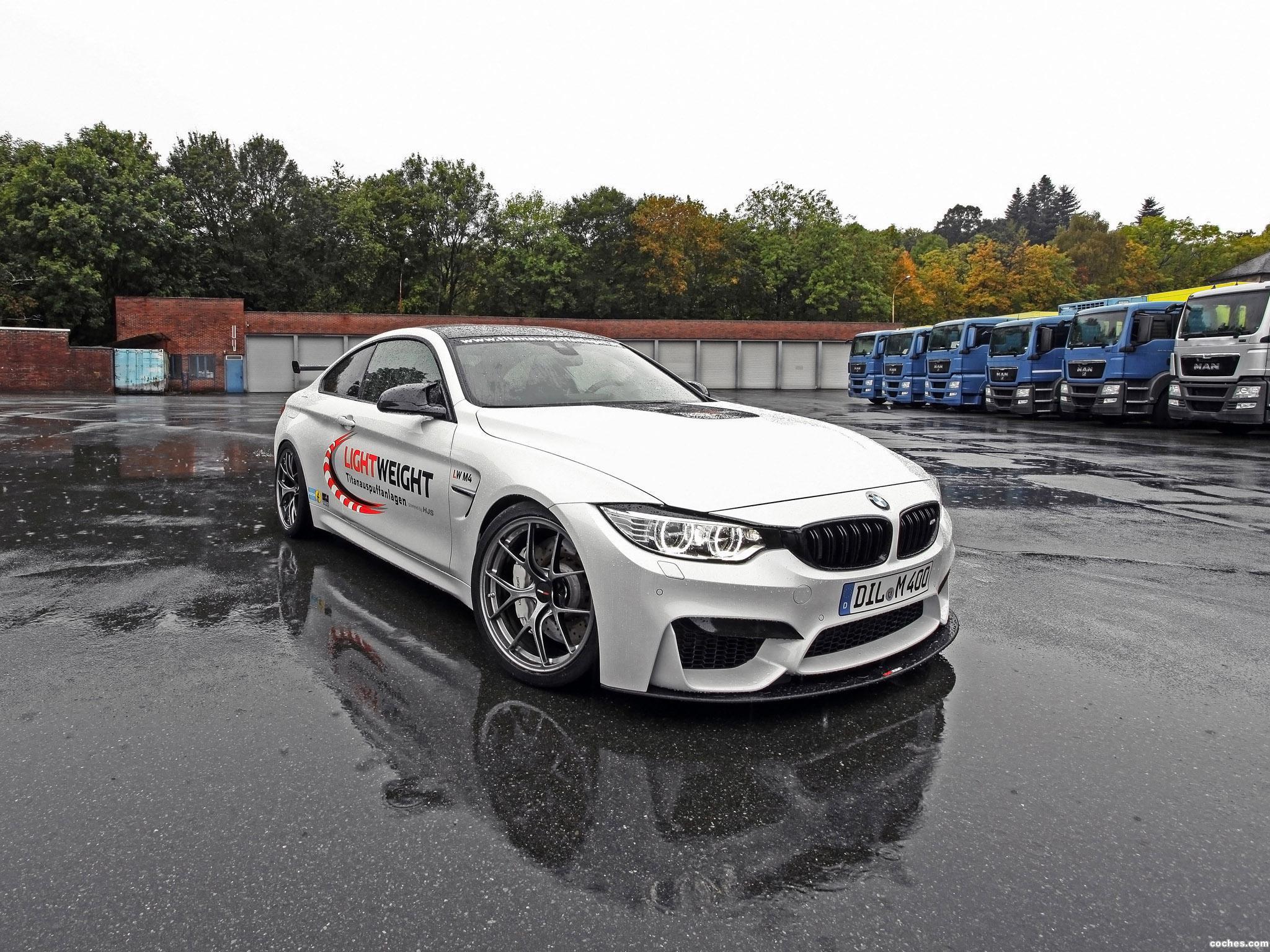 Foto 2 de BMW M4 LightWeight LW 2014