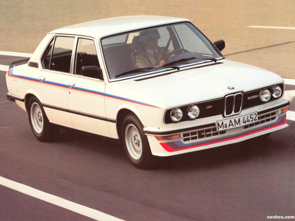 Foto 1 de BMW M5 535i E12 1980
