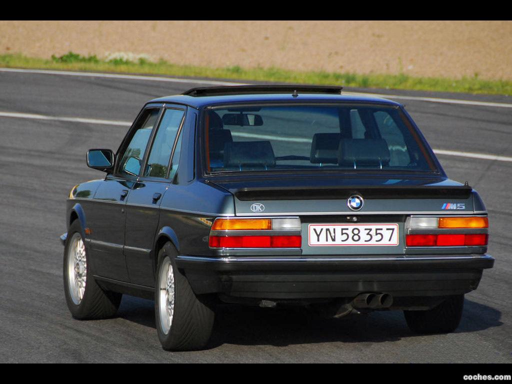 Foto 3 de BMW M5 E28 1985