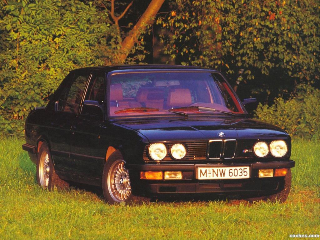 Foto 1 de BMW M5 E28 1985
