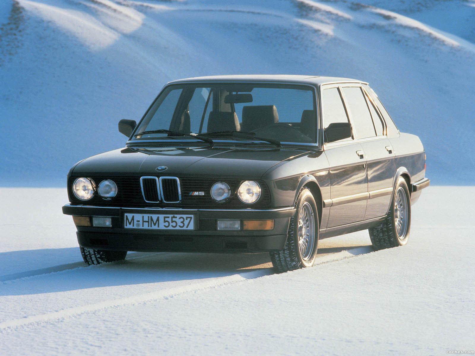 Foto 0 de BMW M5 E28 1985