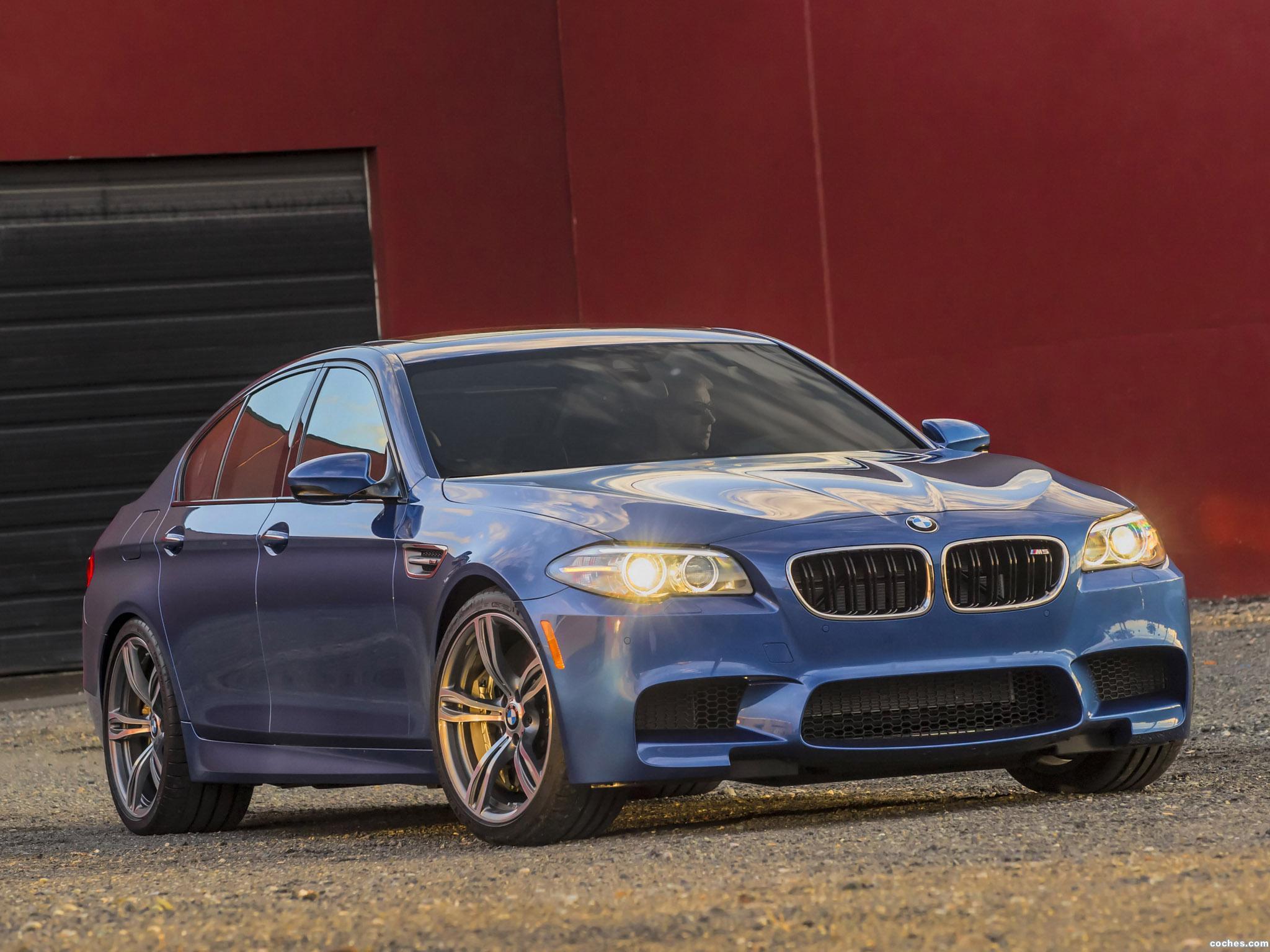 Foto 5 de BMW M5 F10 USA 2014