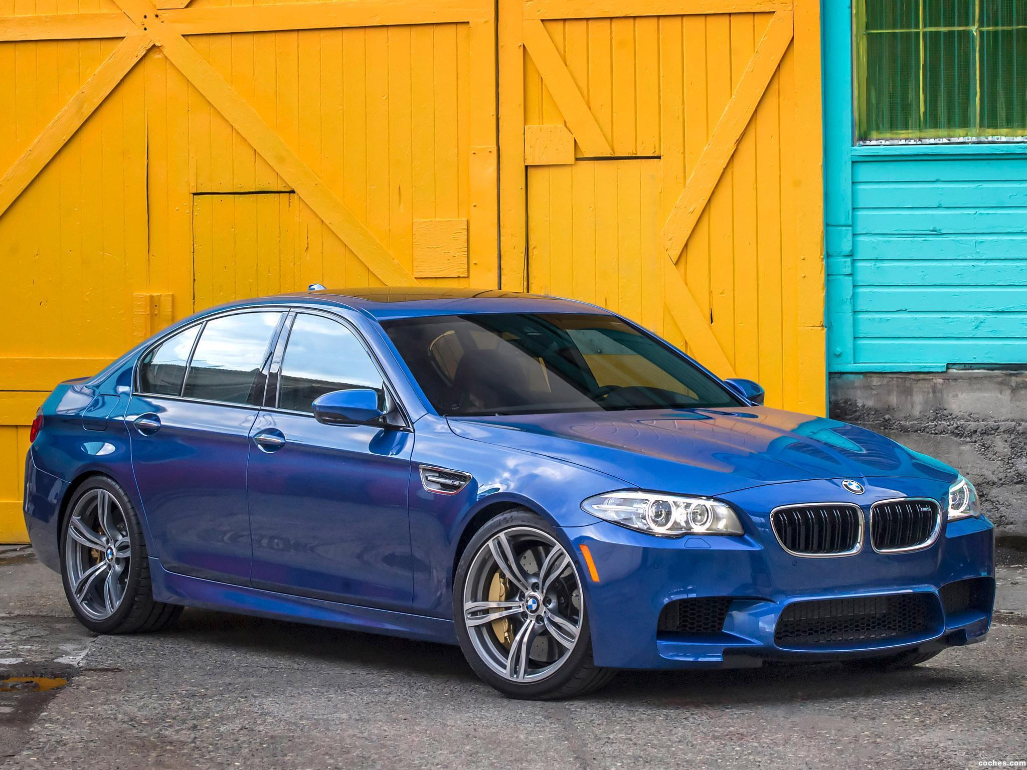 Foto 0 de BMW M5 F10 USA 2014