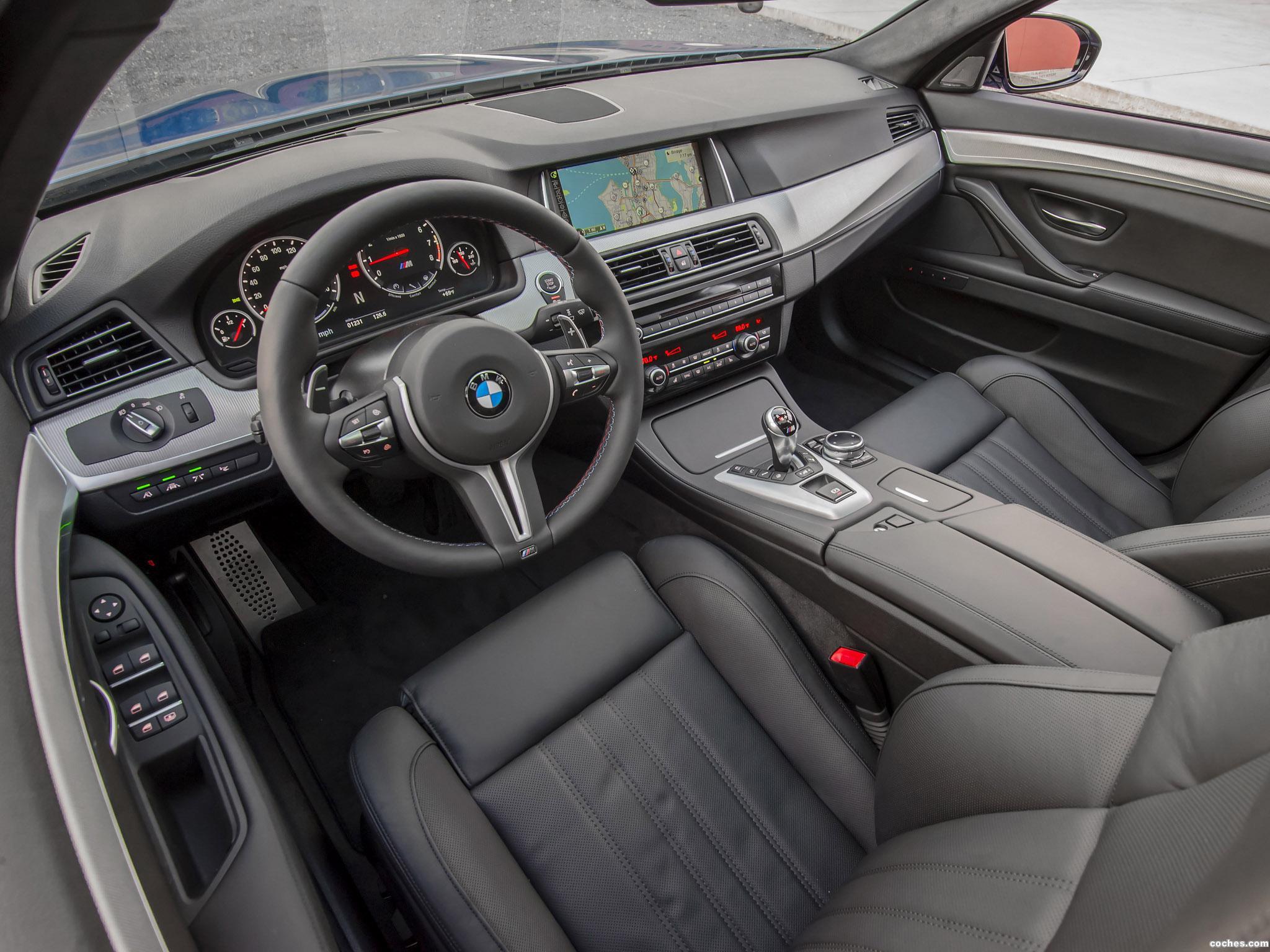 Foto 9 de BMW M5 F10 USA 2014