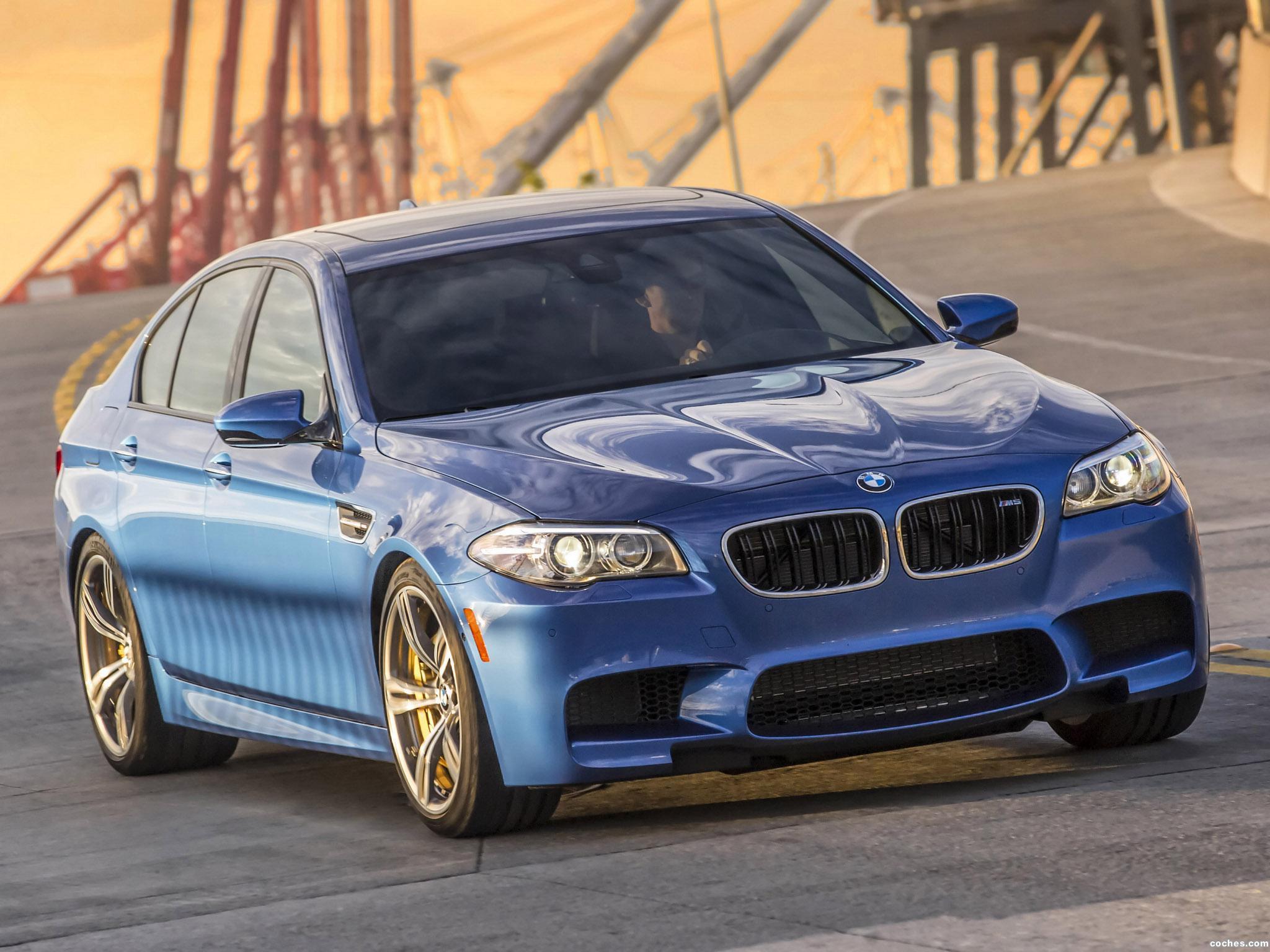 Foto 7 de BMW M5 F10 USA 2014